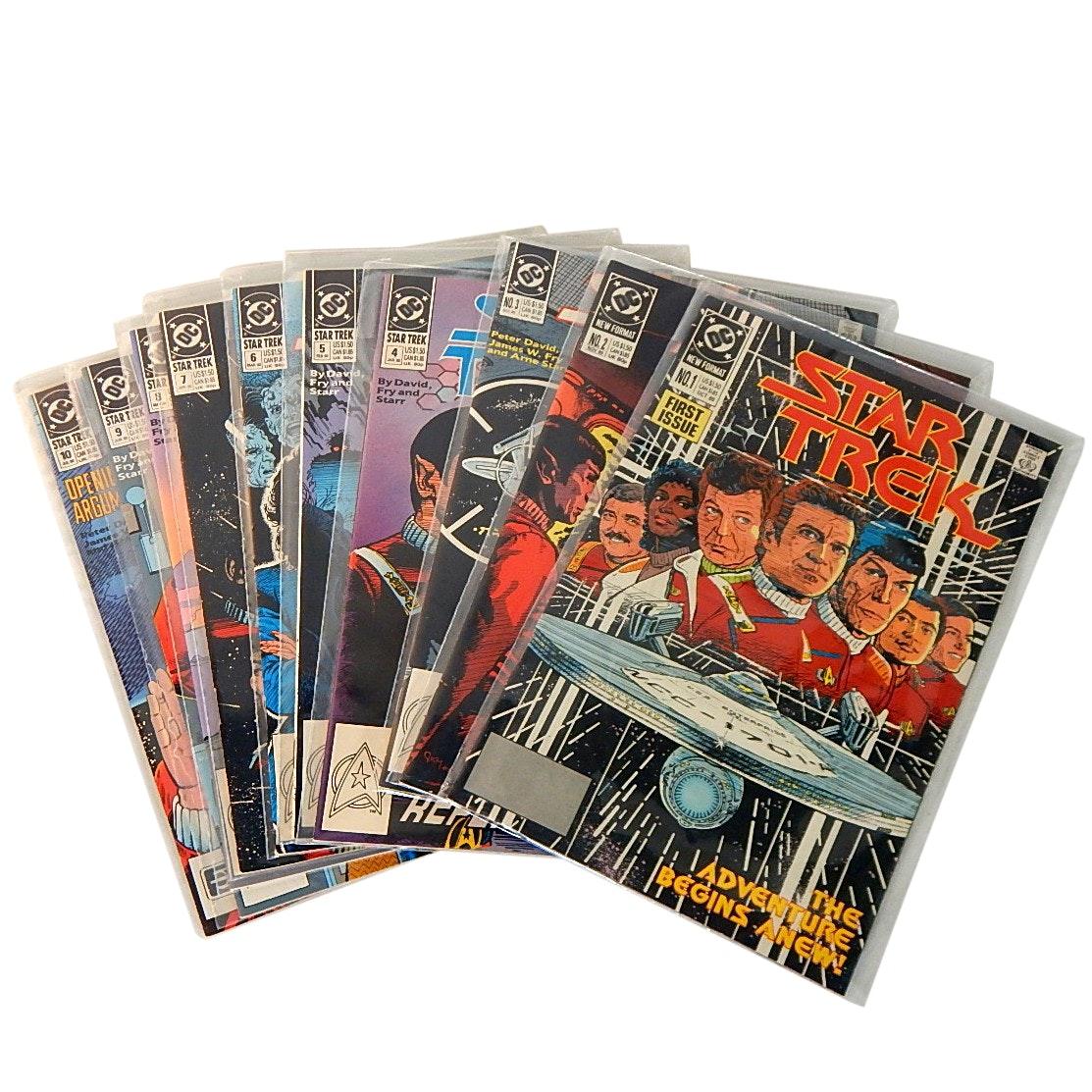 "Bronze Age 1980s ""Star Trek"" DC Second Series Comics"