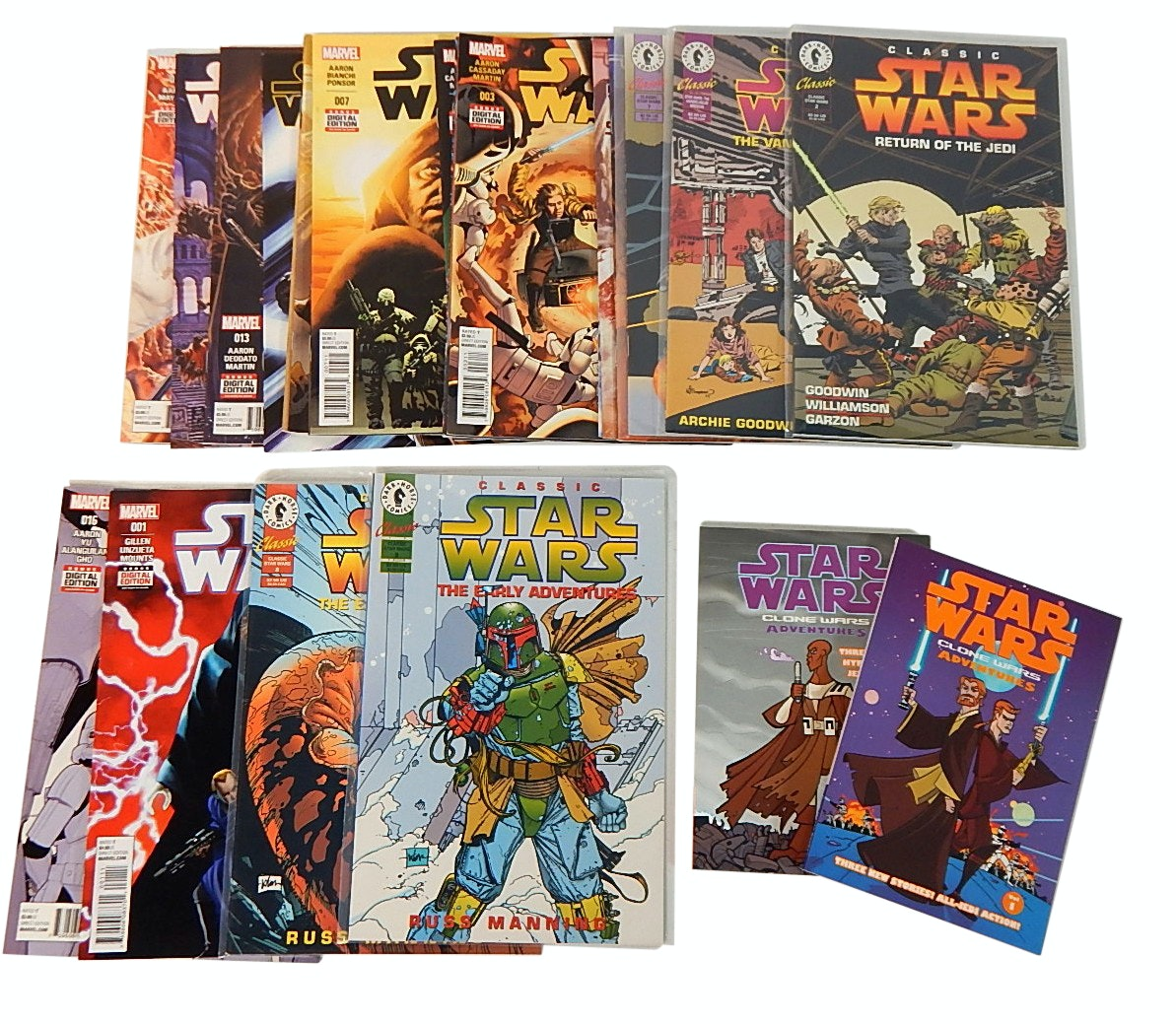 "Modern Age Marvel and Dark Horse Comics with ""Star Wars"""