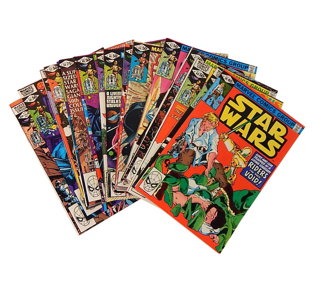 "Bronze Age Marvel ""Star Wars"" Comic Books"