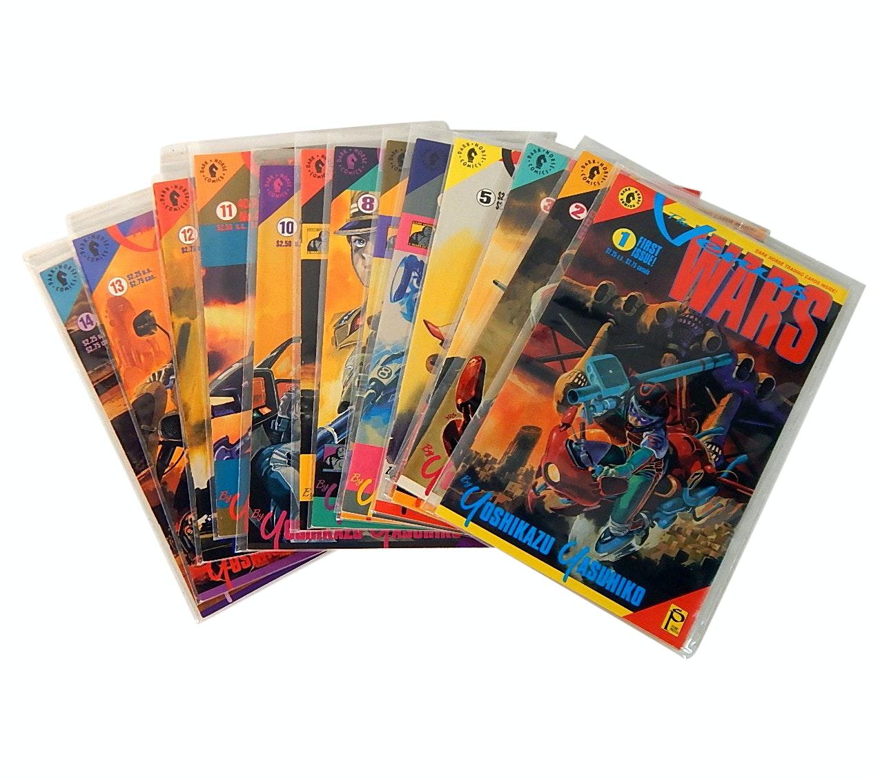 "Modern Age Dark Horse Comics with ""The Venus Wars"""