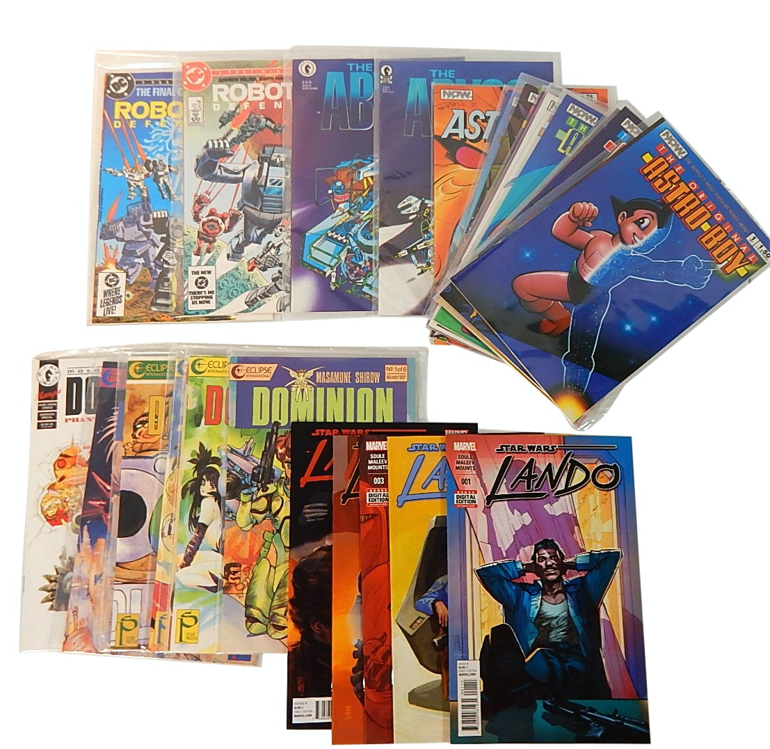 """Bronze and Modern Age Comic Books with """"Star Wars: Lando"""", """"Astro Boy"""" and More"""
