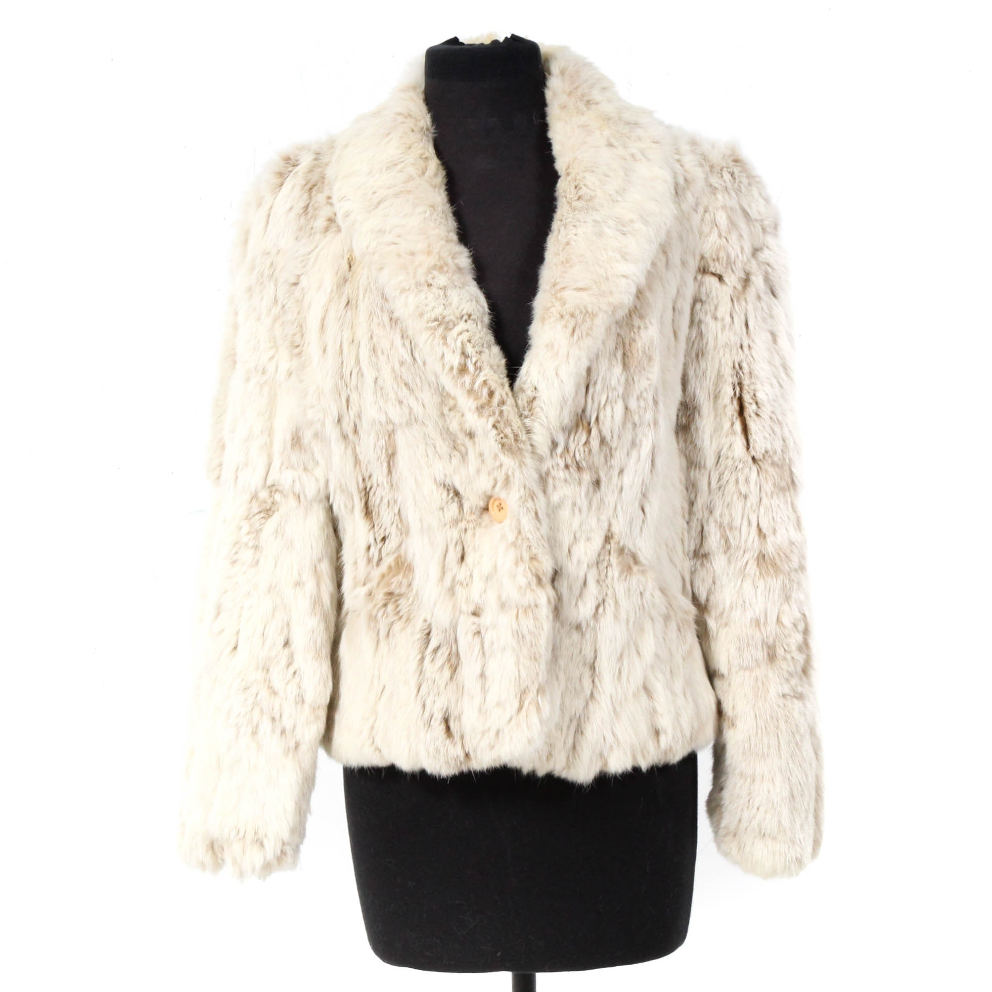 Mademoiselle Rabbit Fur Coat