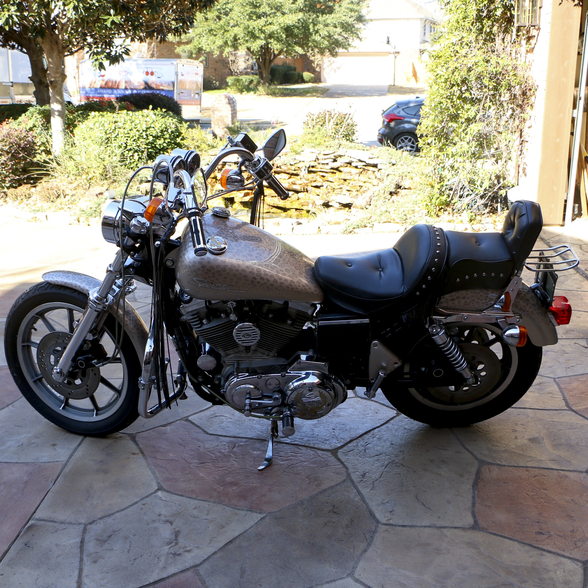 1994 Customized Harley-Davidson 883 Hugger Sportster with 1200CC Engine