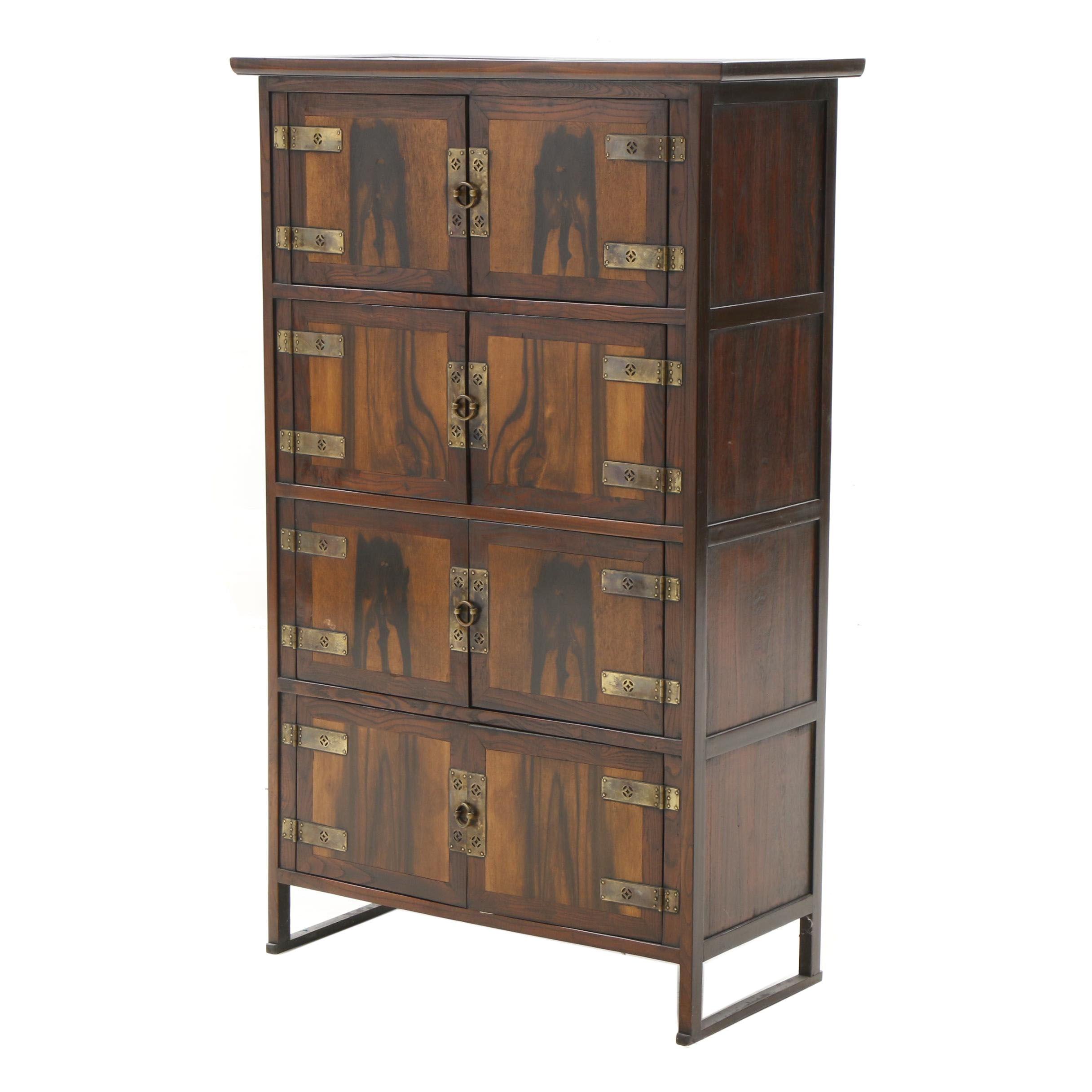 Japanese Cedar Lined Storage Cabinet