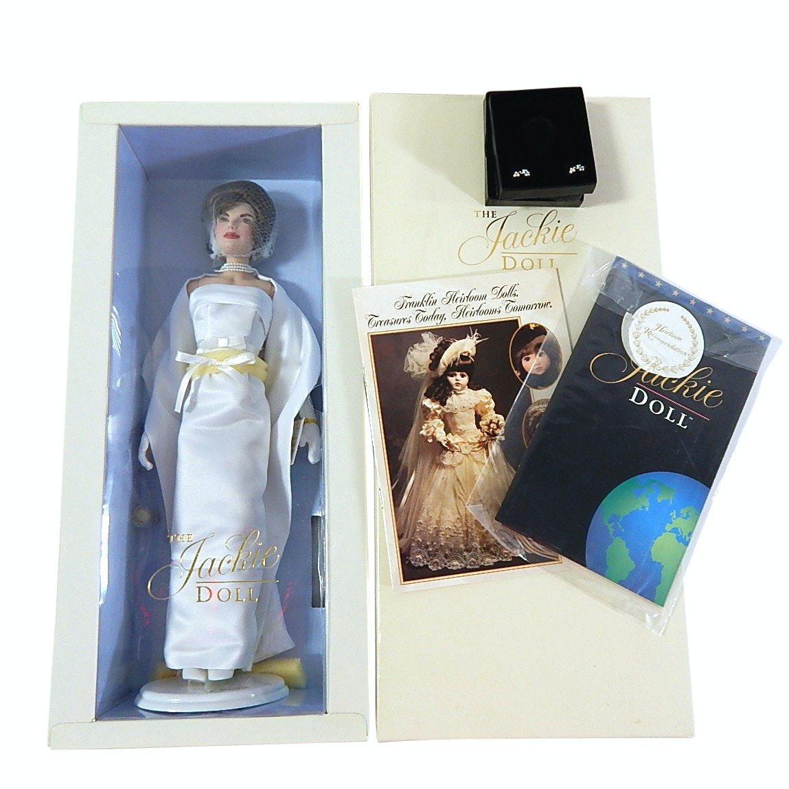 "Franklin Heirloom Jackie Kennedy 15"" Doll in Box"