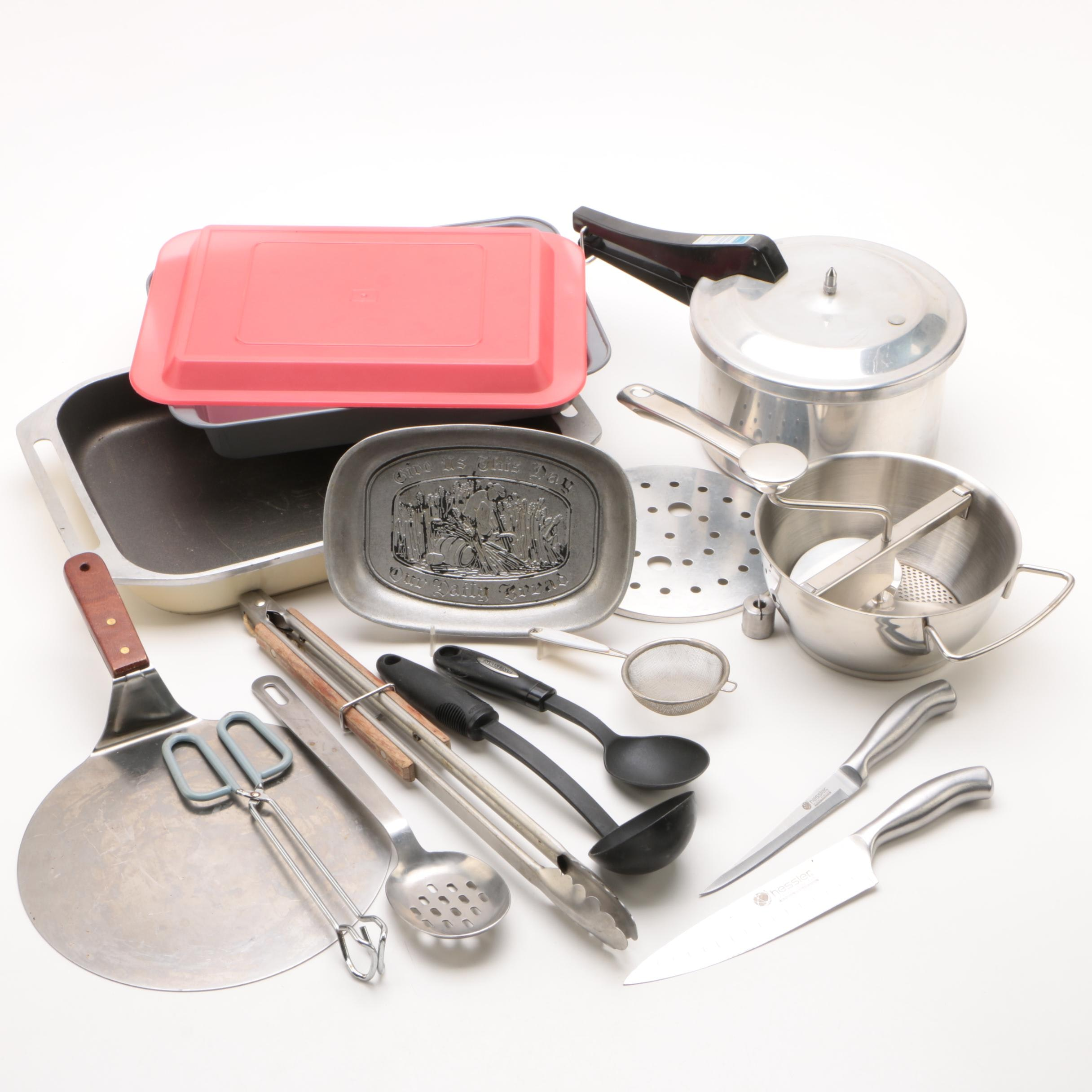 Hessler Knives and Assorted Cooking Collection