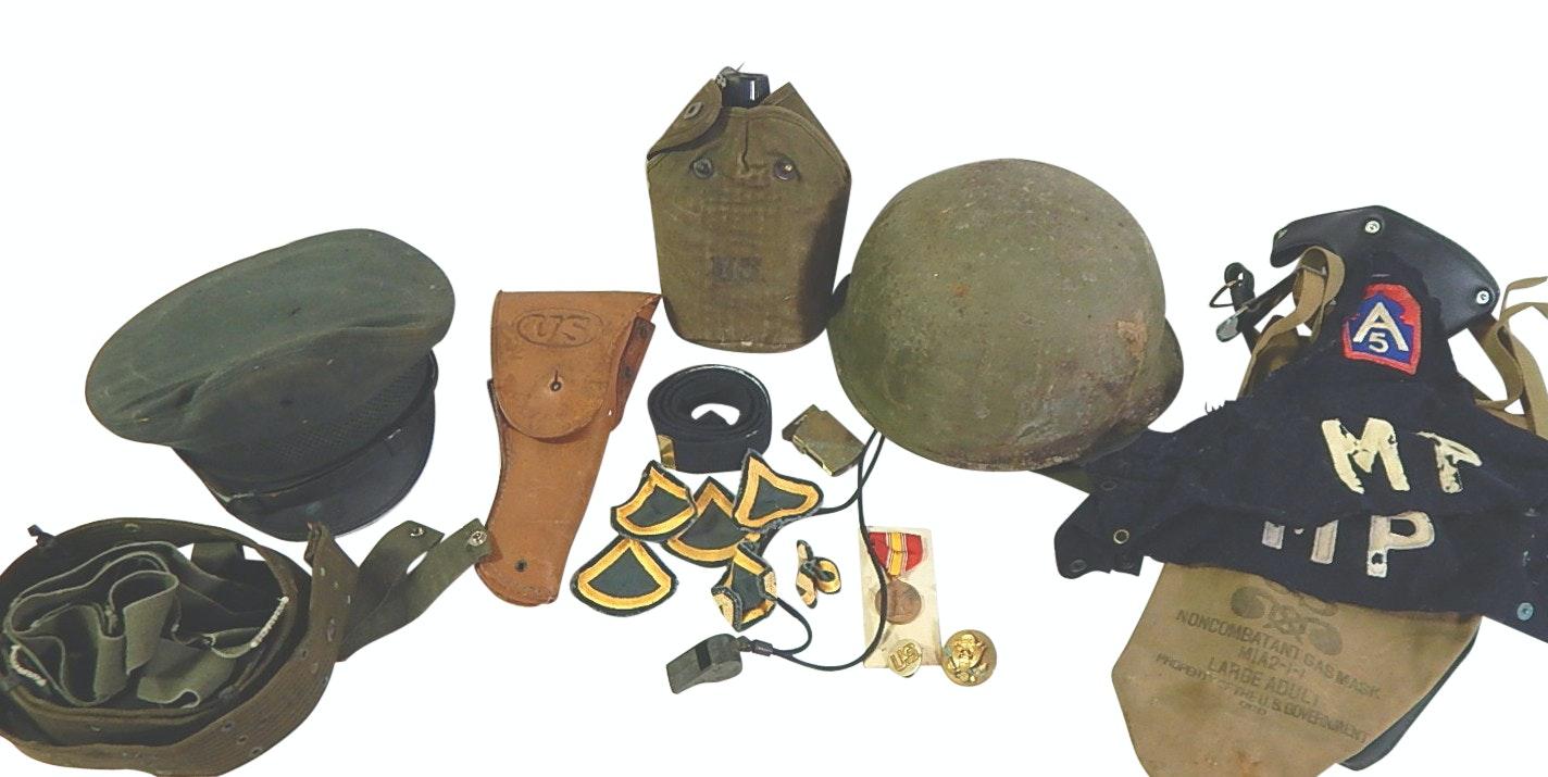 World War II U.S. Army Collectibles and Memorabilia