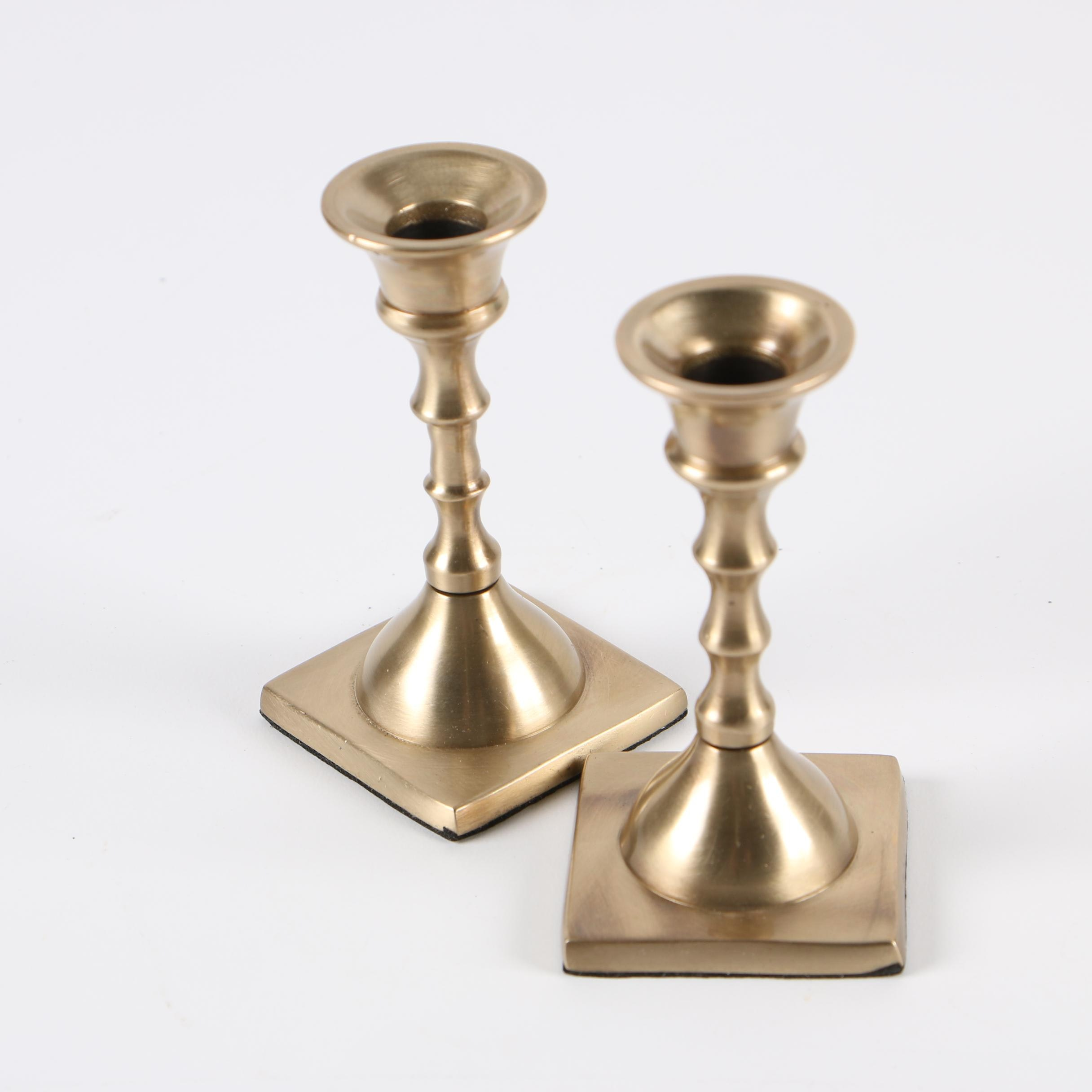 Colonial Style Candle Stick Holders