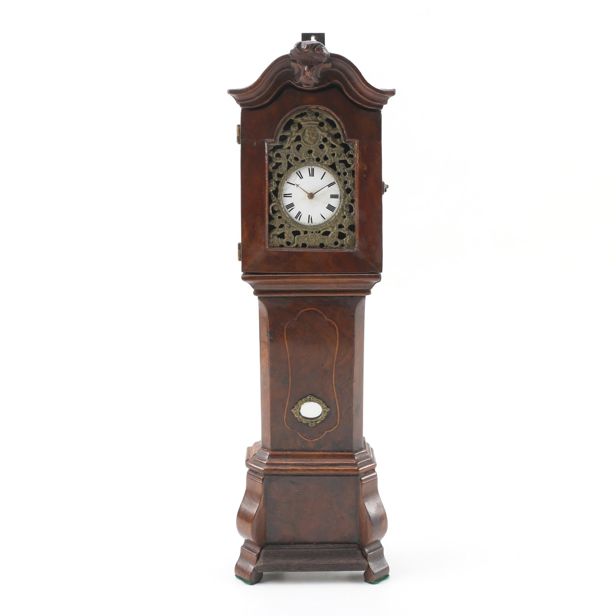 B. Edmunds Liverpool Miniature Grandfather Clock