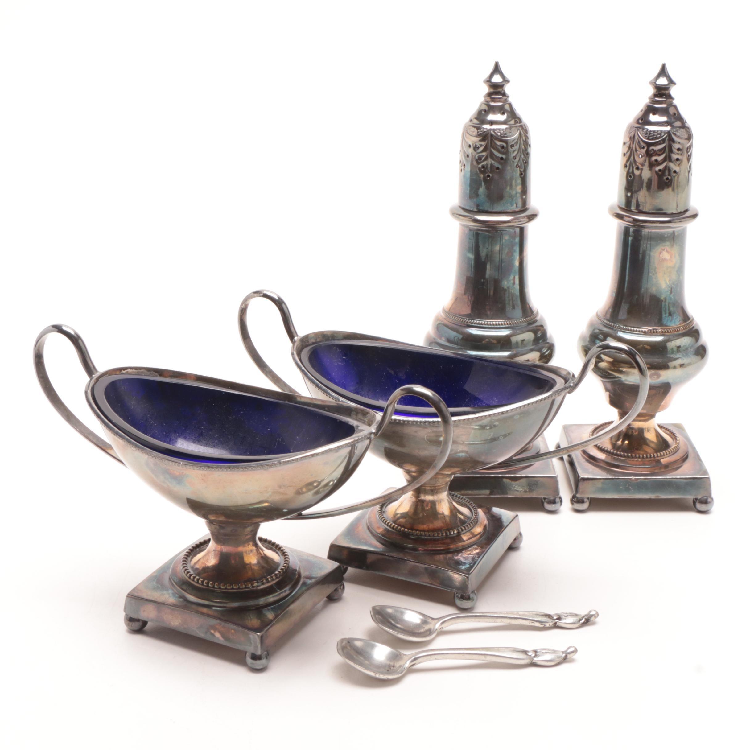 E. G. Webster & Son Silverplate Tableware