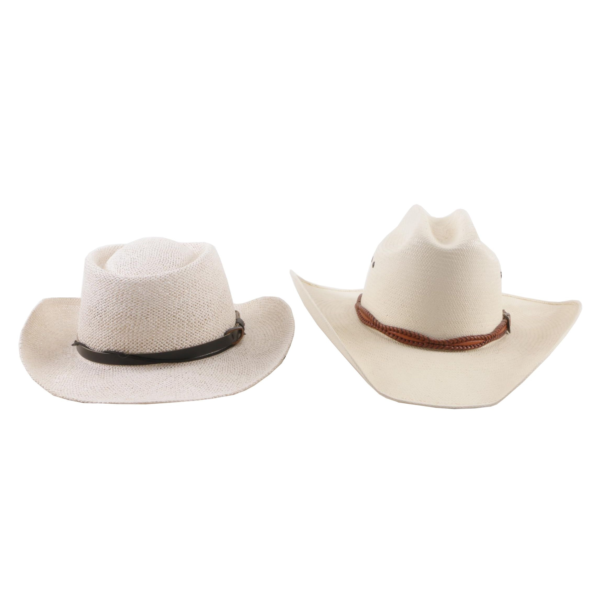 Men's Woven Hats including Western Fashion Accessories