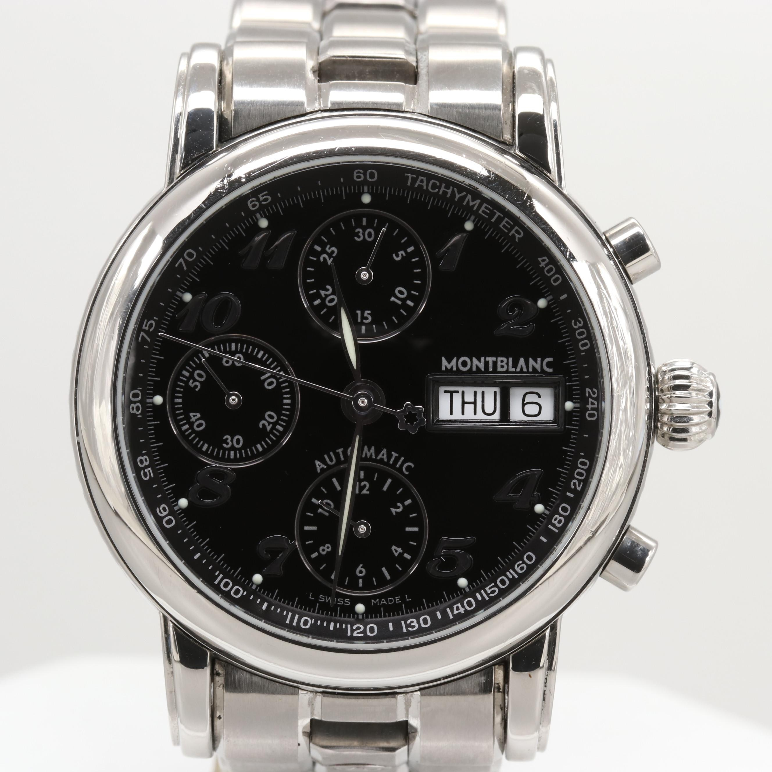 Montblanc Star Automatic Chronograph Wristwatch