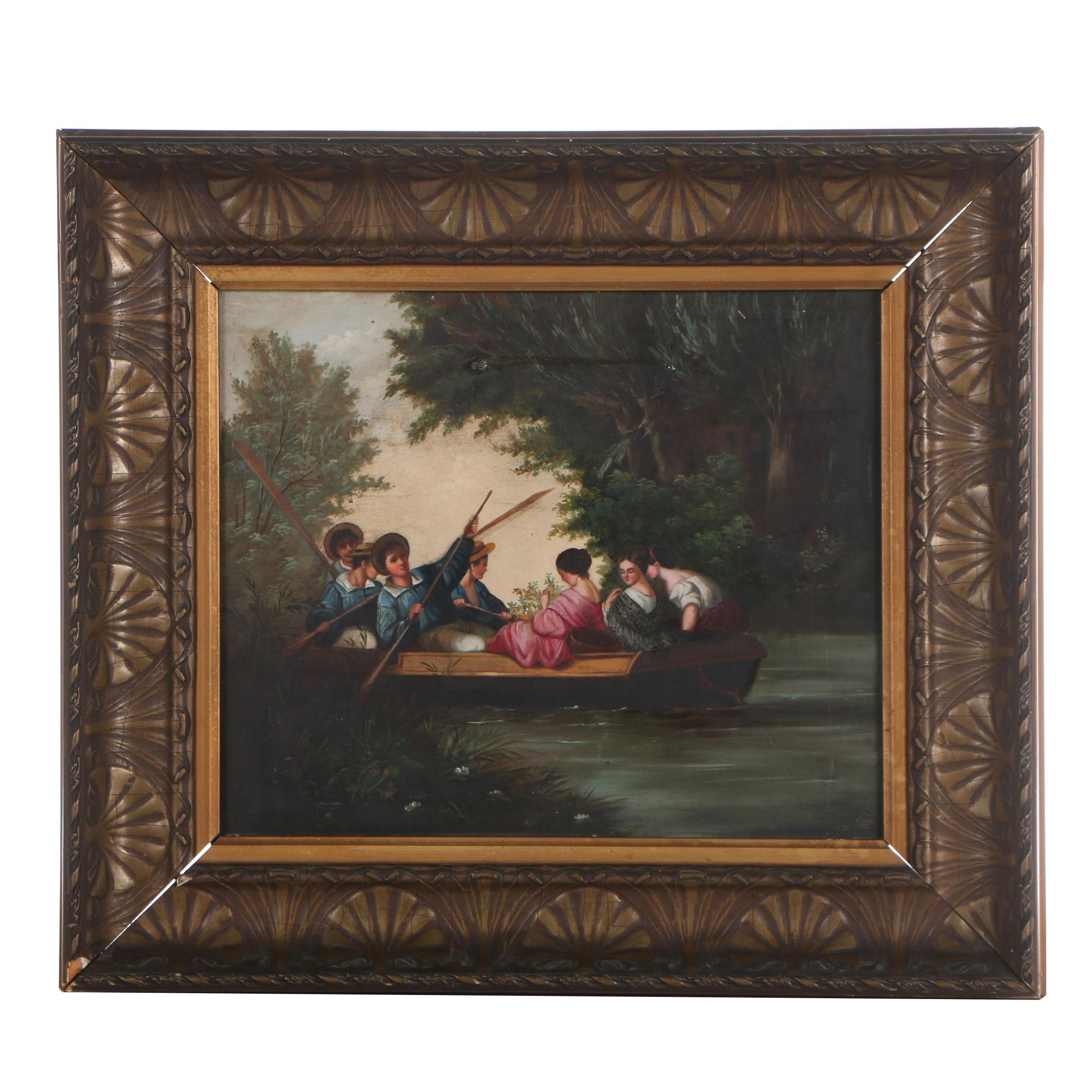 Oil Painting, 19th Century