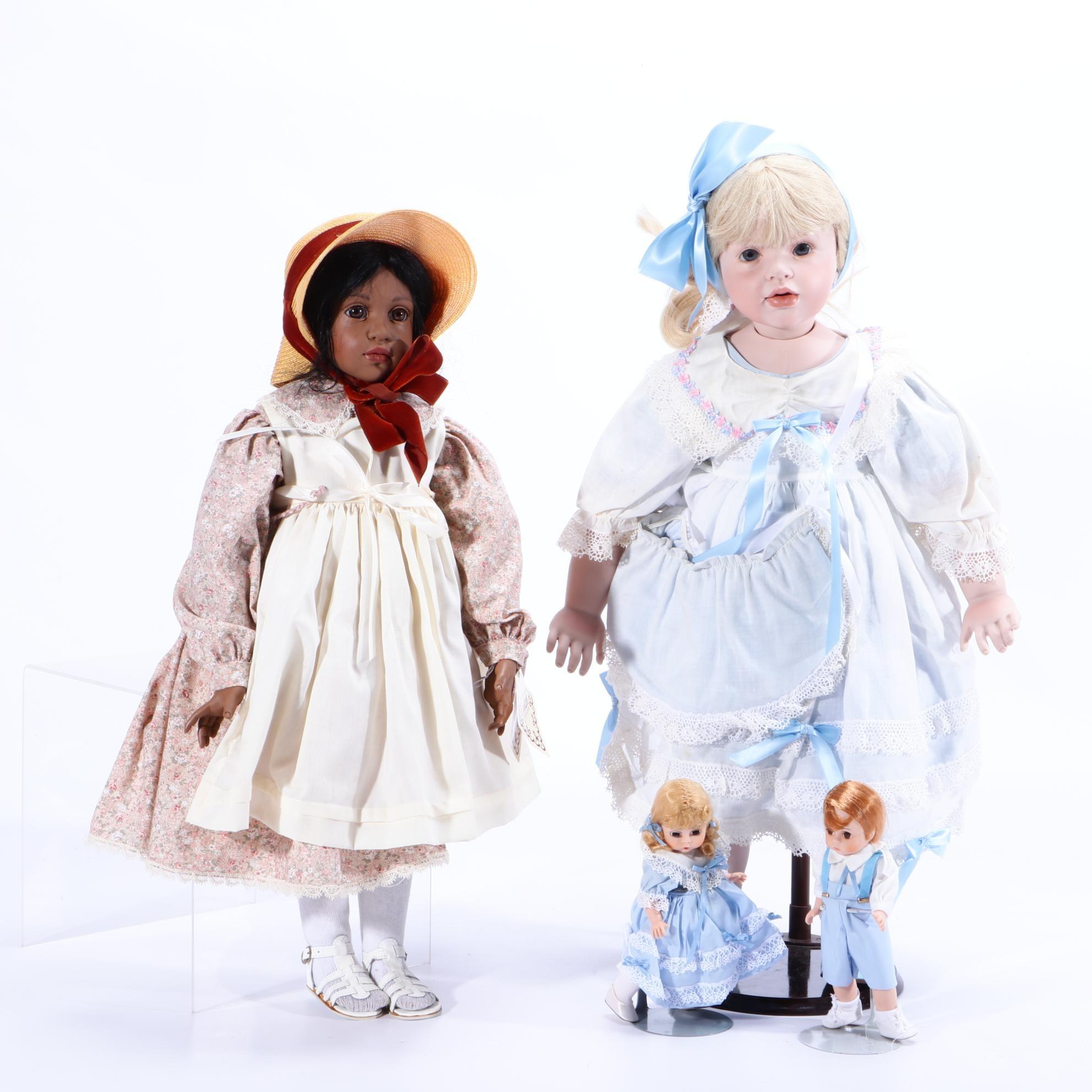 Limited Edition Hildegard Günzel Collection Porcelain Dolls
