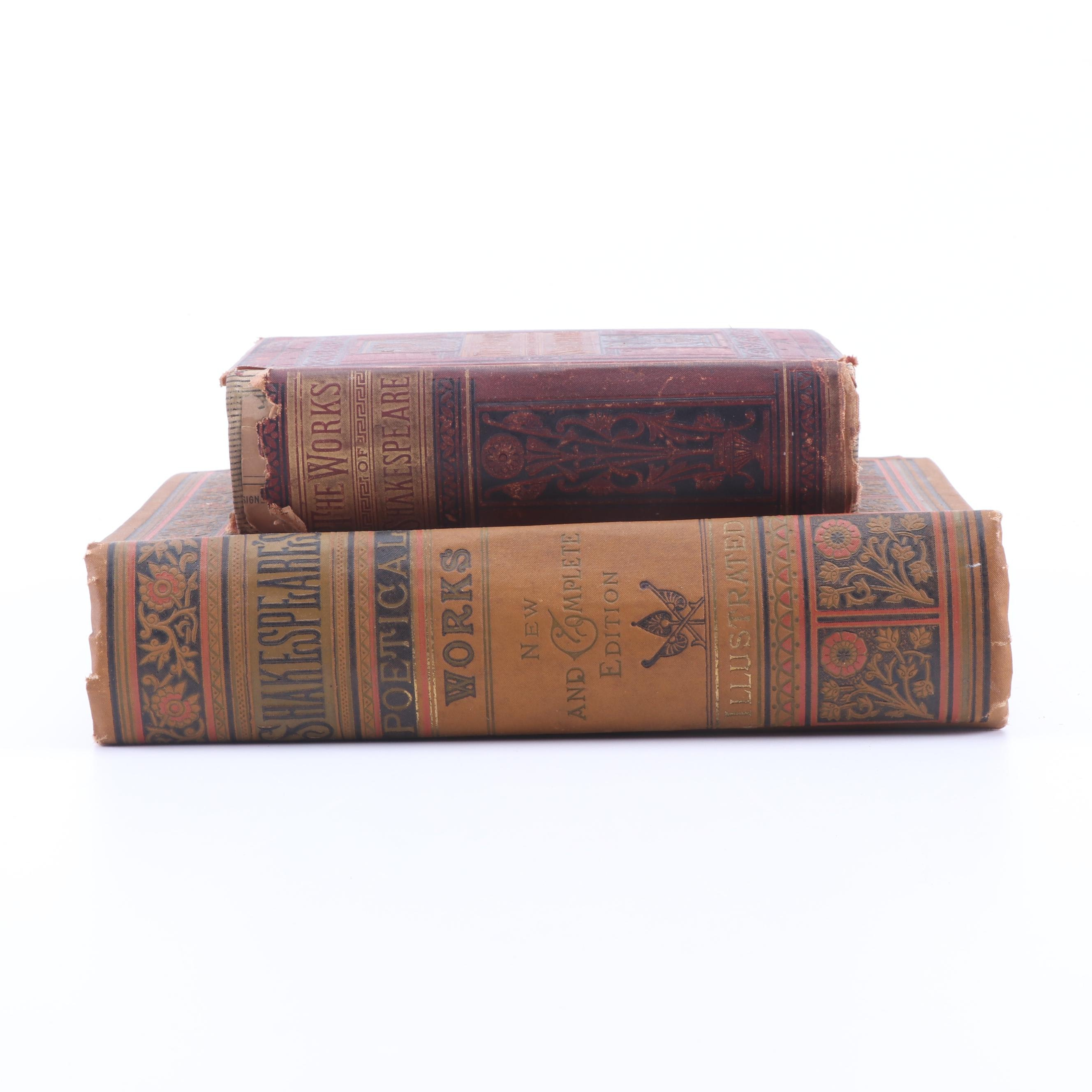 Late 19th Century Works of William Shakespeare
