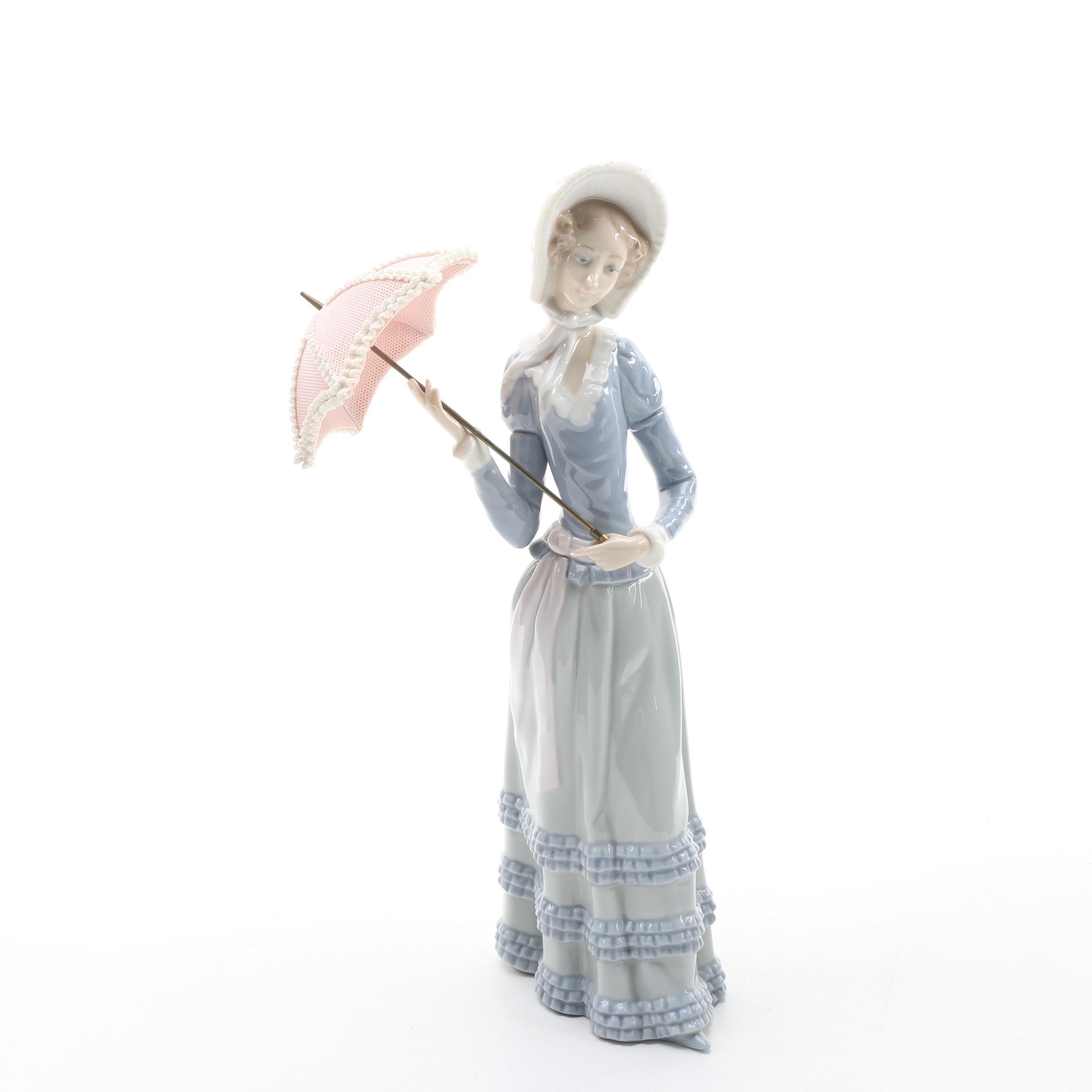"Lladro ""Aranjuez Little Lady"" Porcelain Figurine"
