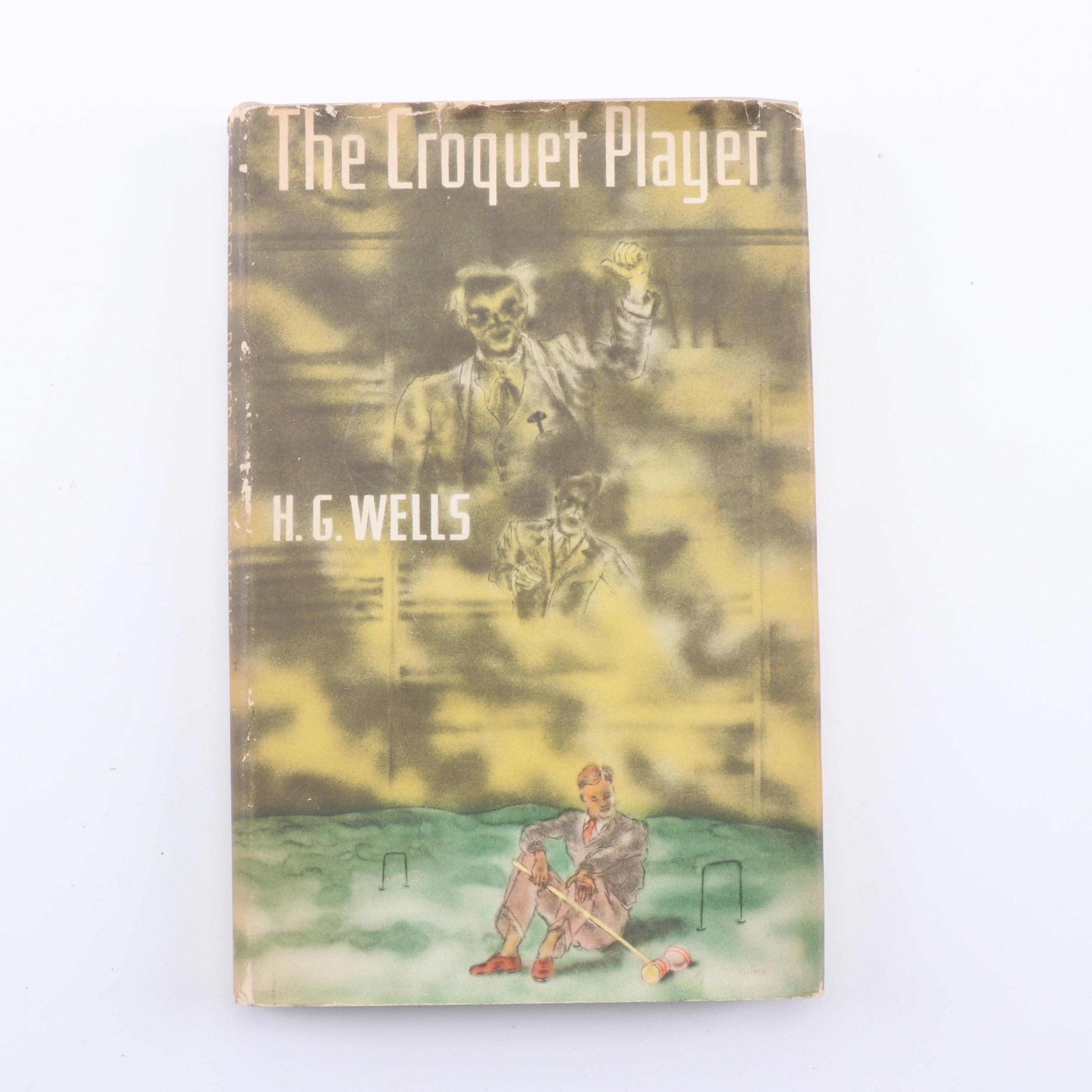 "1937 First American Edition ""The Croquet Player"" by H. G. Wells"