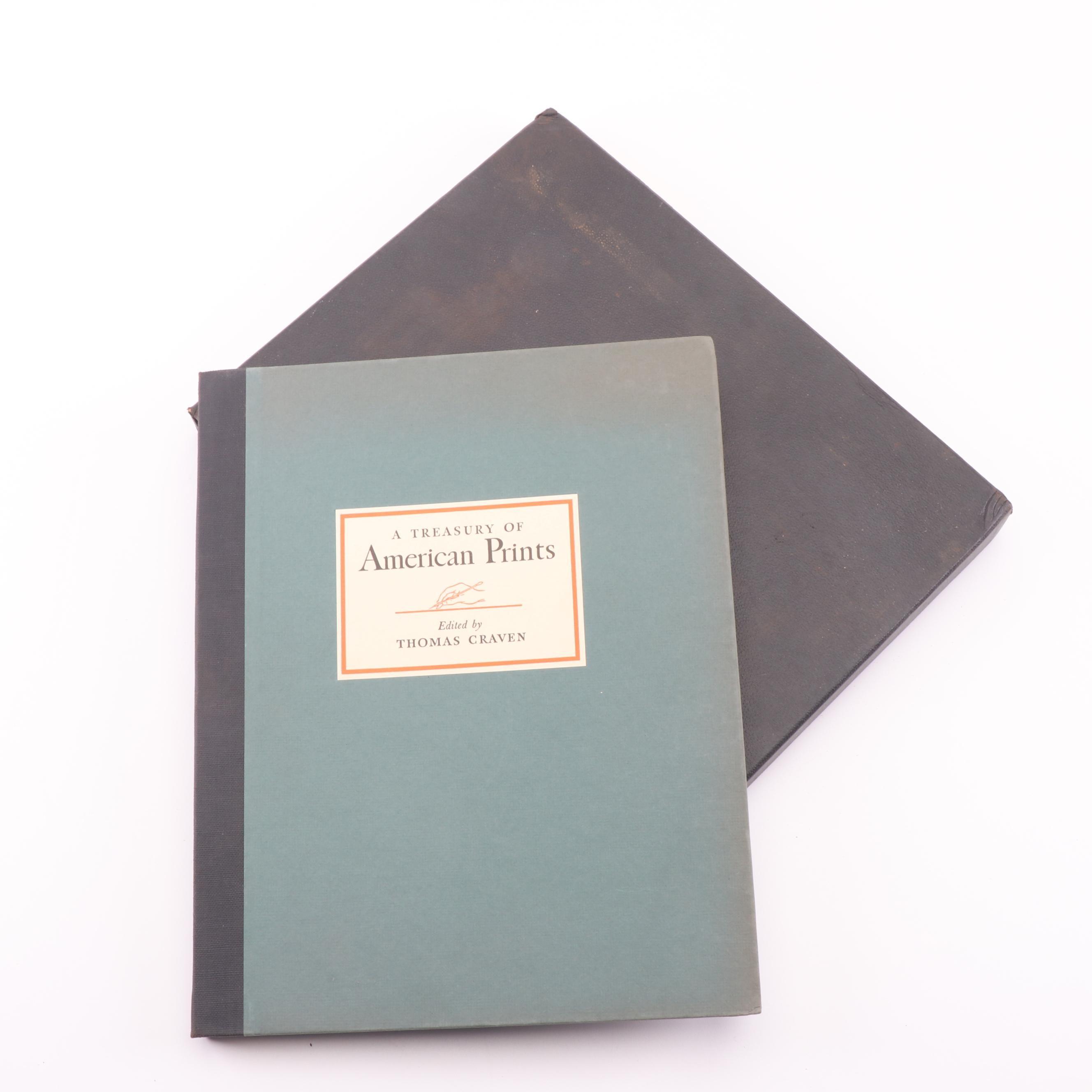 "1939 ""Treasury of American Prints"" by Thomas Craven"