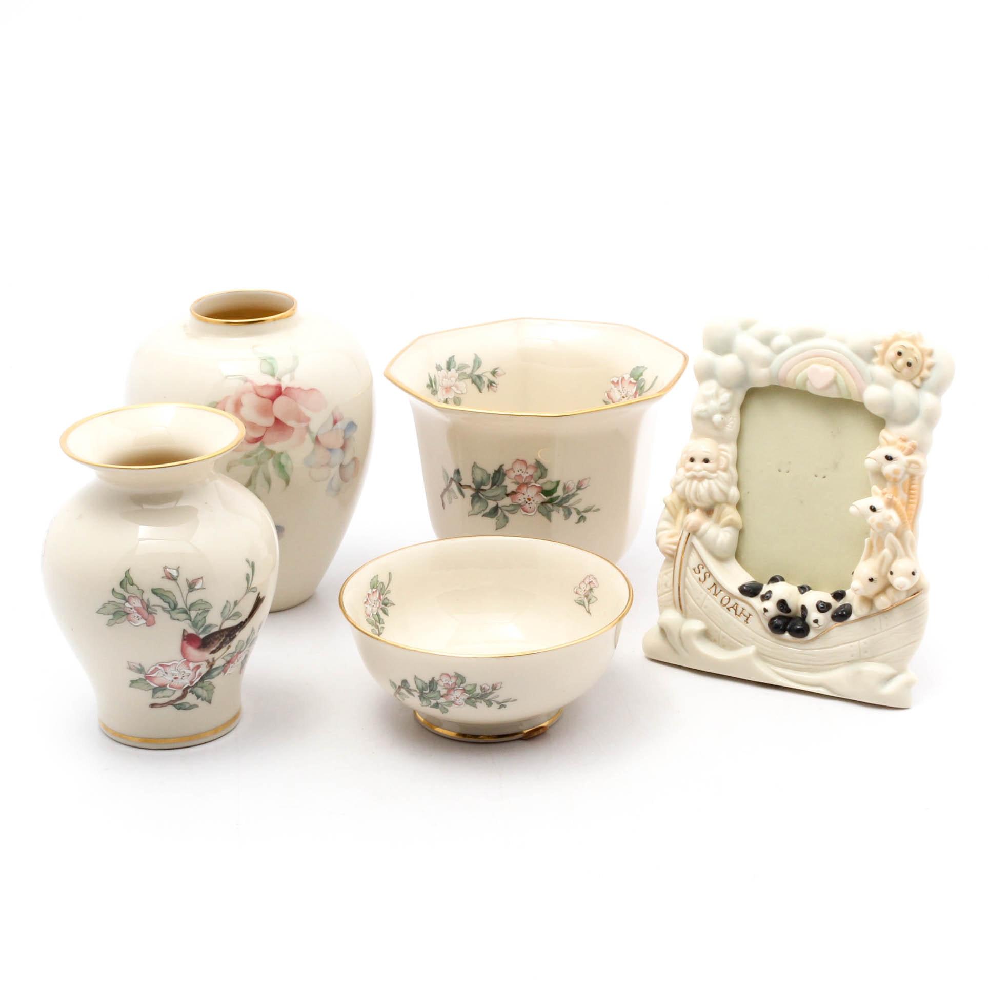 "Lenox Porcelain Tableware Including ""Serenade"""