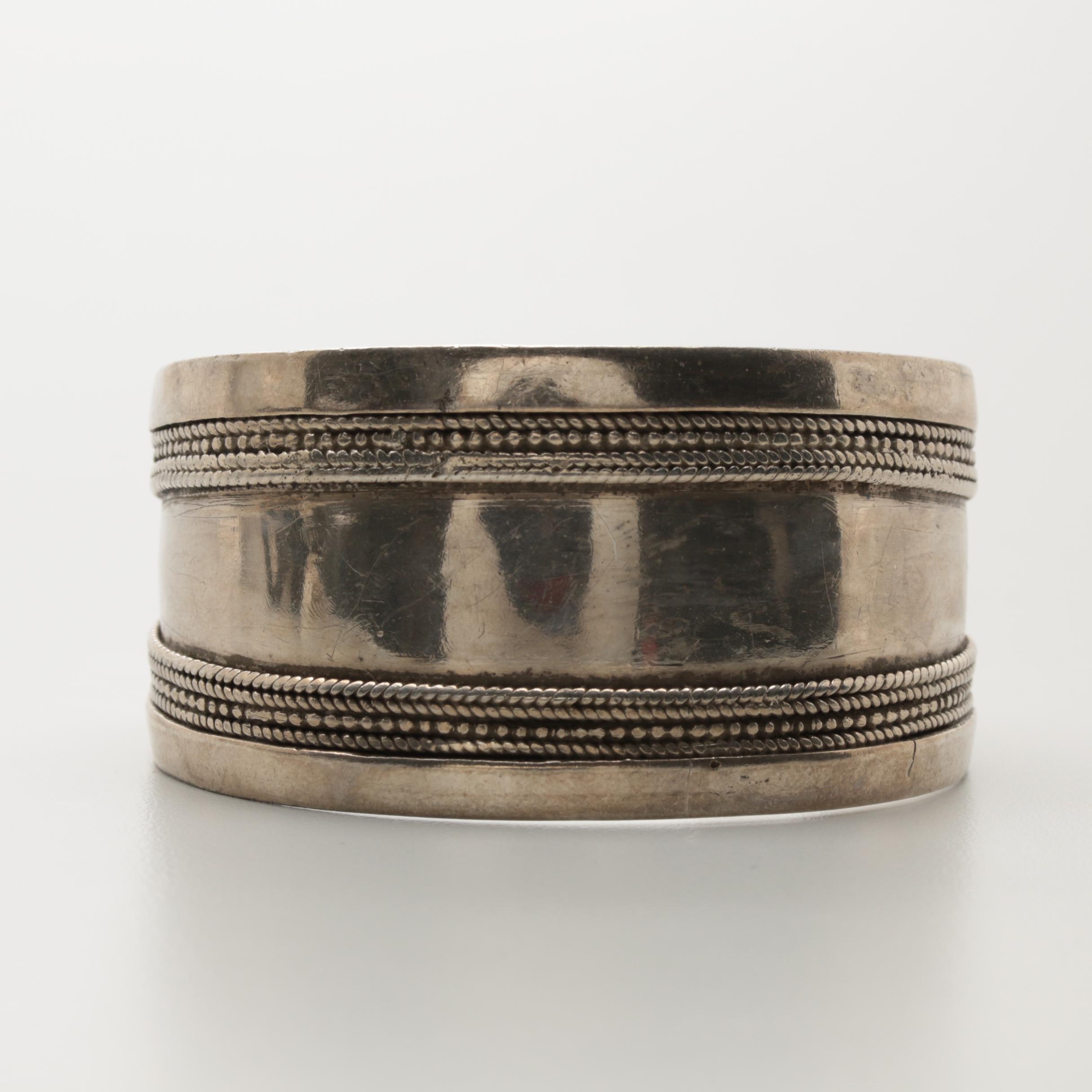 Sterling Silver Cuff Bracelet