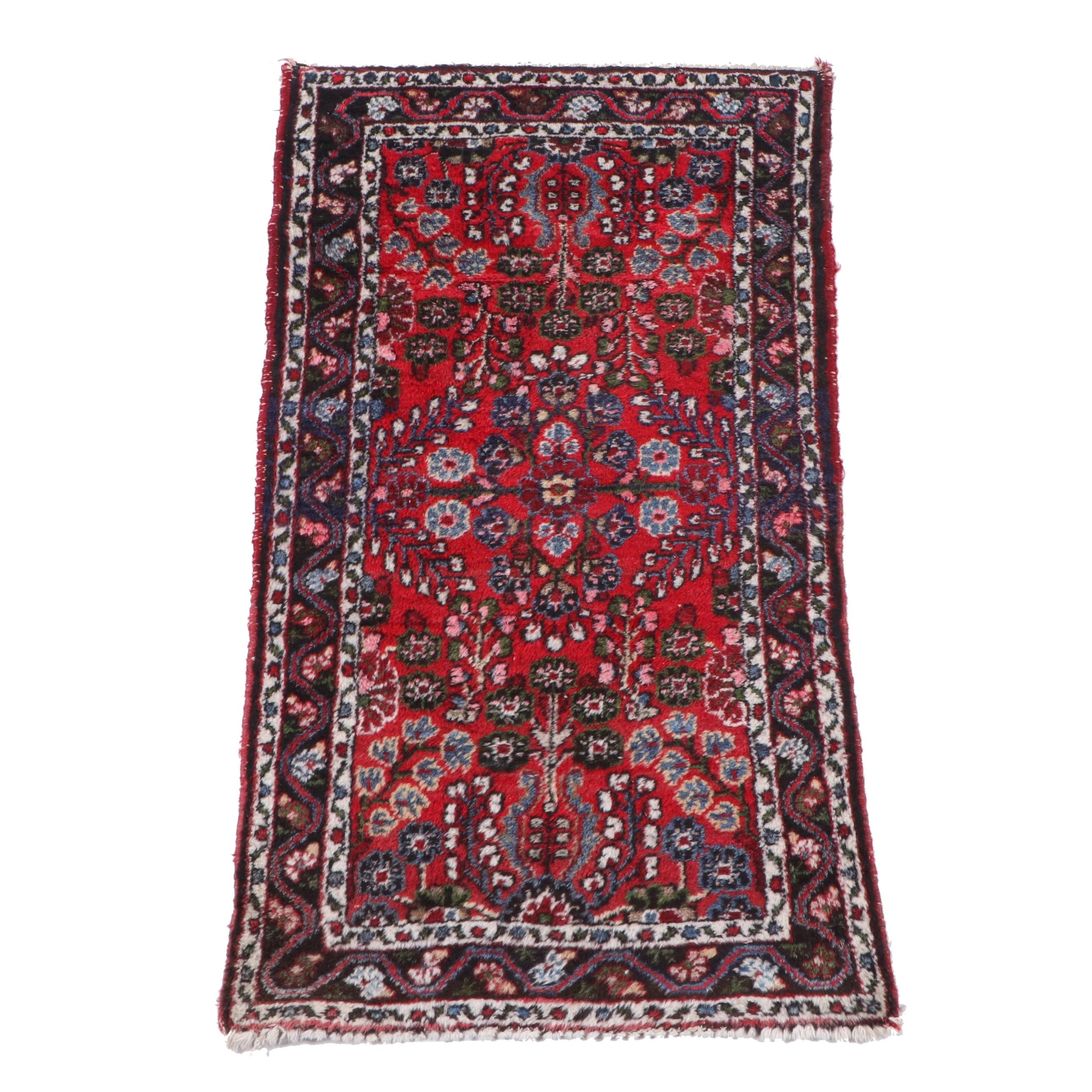 """Hand-Knotted Persian """"Dargazin"""" Wool Rug"""