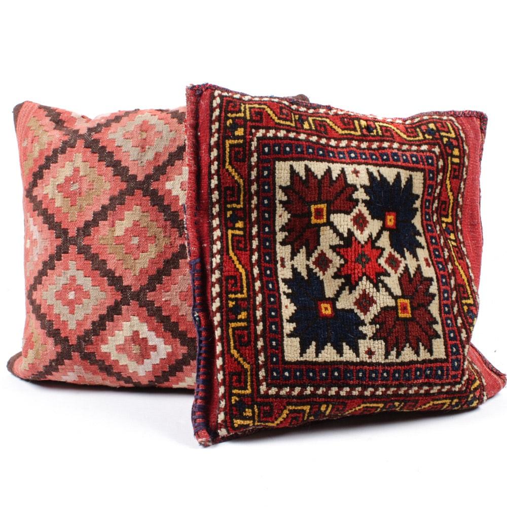 Vintage Handwoven Turkish Kilim Pillows