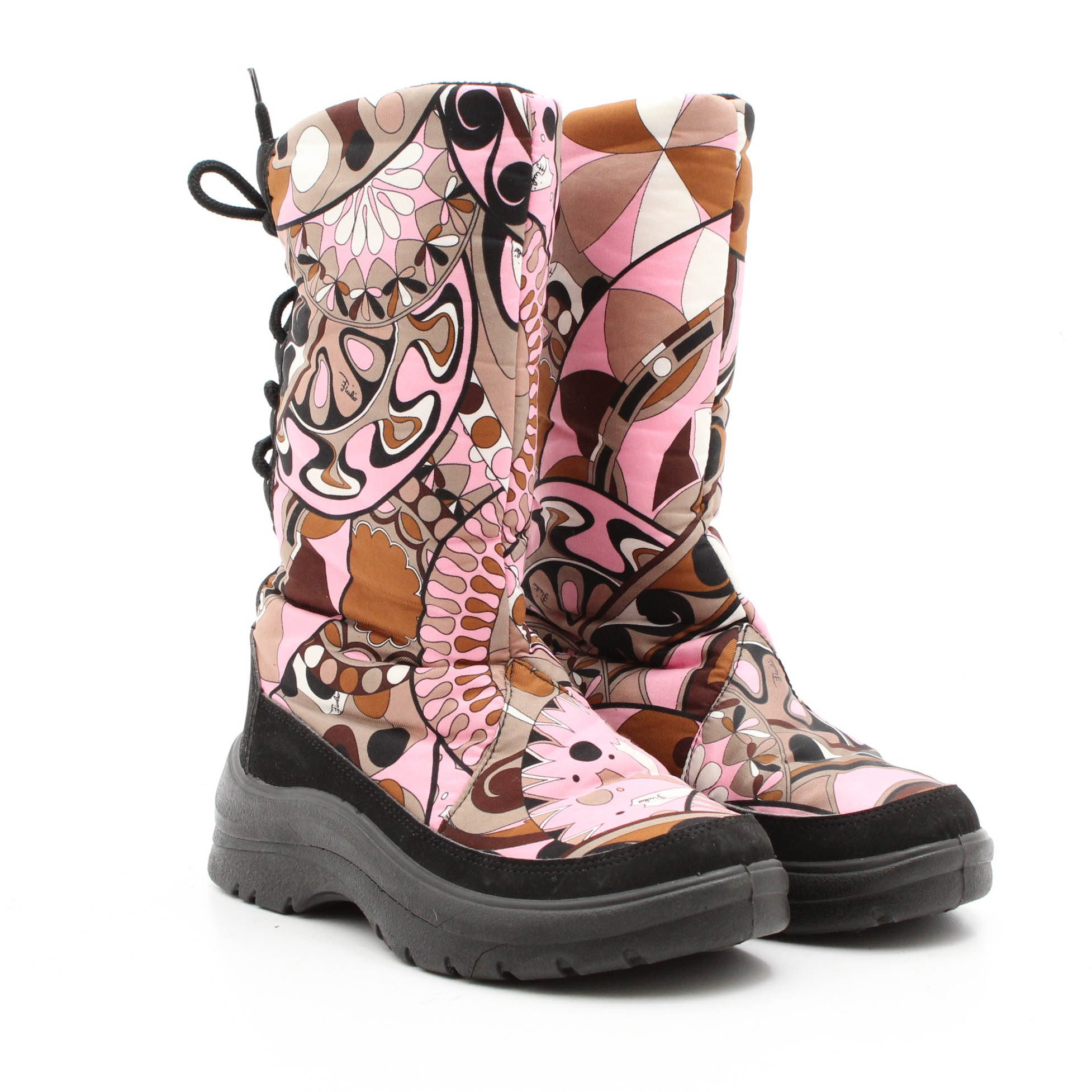 Emilio Pucci Boots with Lace-Ups
