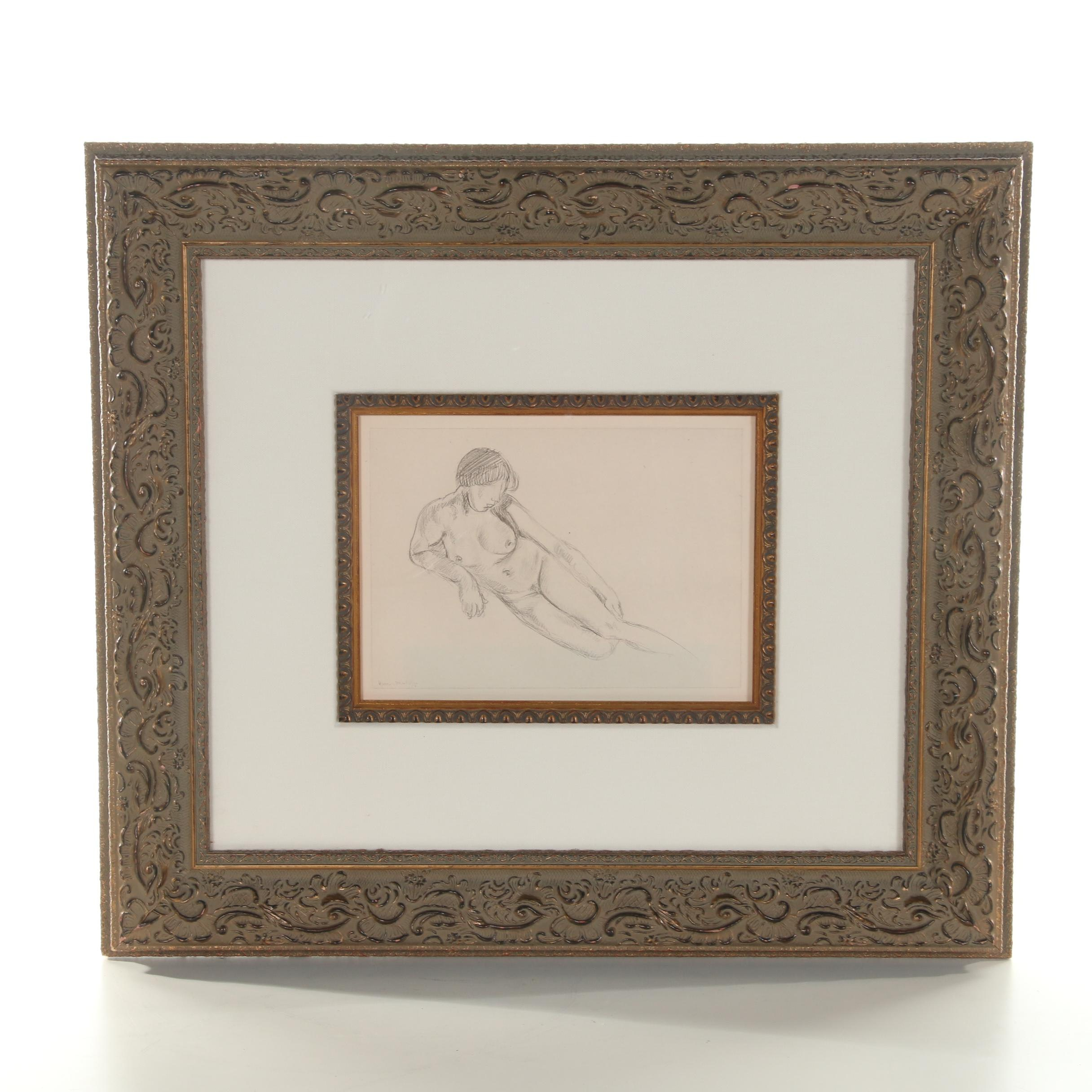 Reproduction Lithograph after Matisse