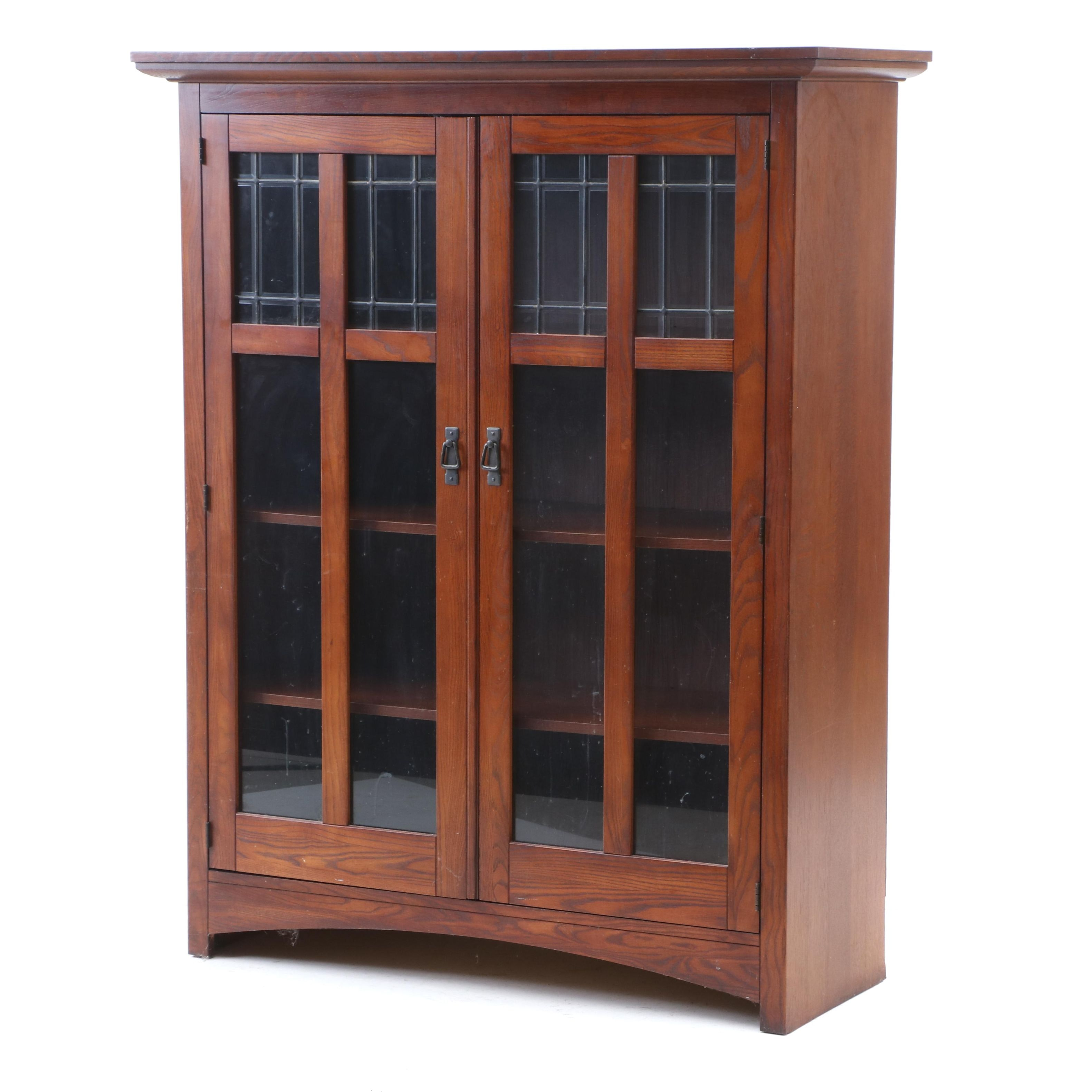 Art and Crafts Style Bookcase Cabinet by Bassett