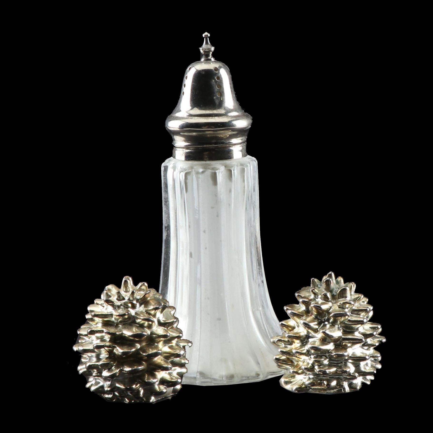 Godinger Silver Art Co. Pine Cone Salt and Pepper Shaker Set