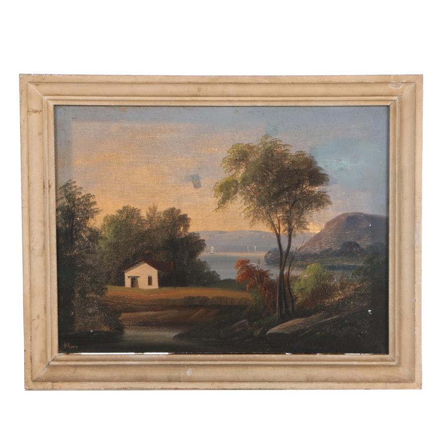 Moore Landscape Oil Painting