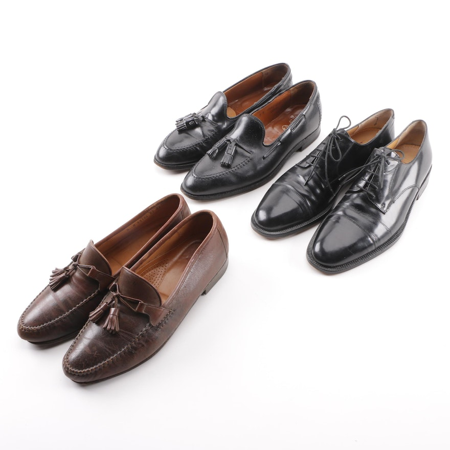 92819a4ea35 Men s Brooks Brothers and Allen Edmonds Loafers with Cole Haan Oxfords ...