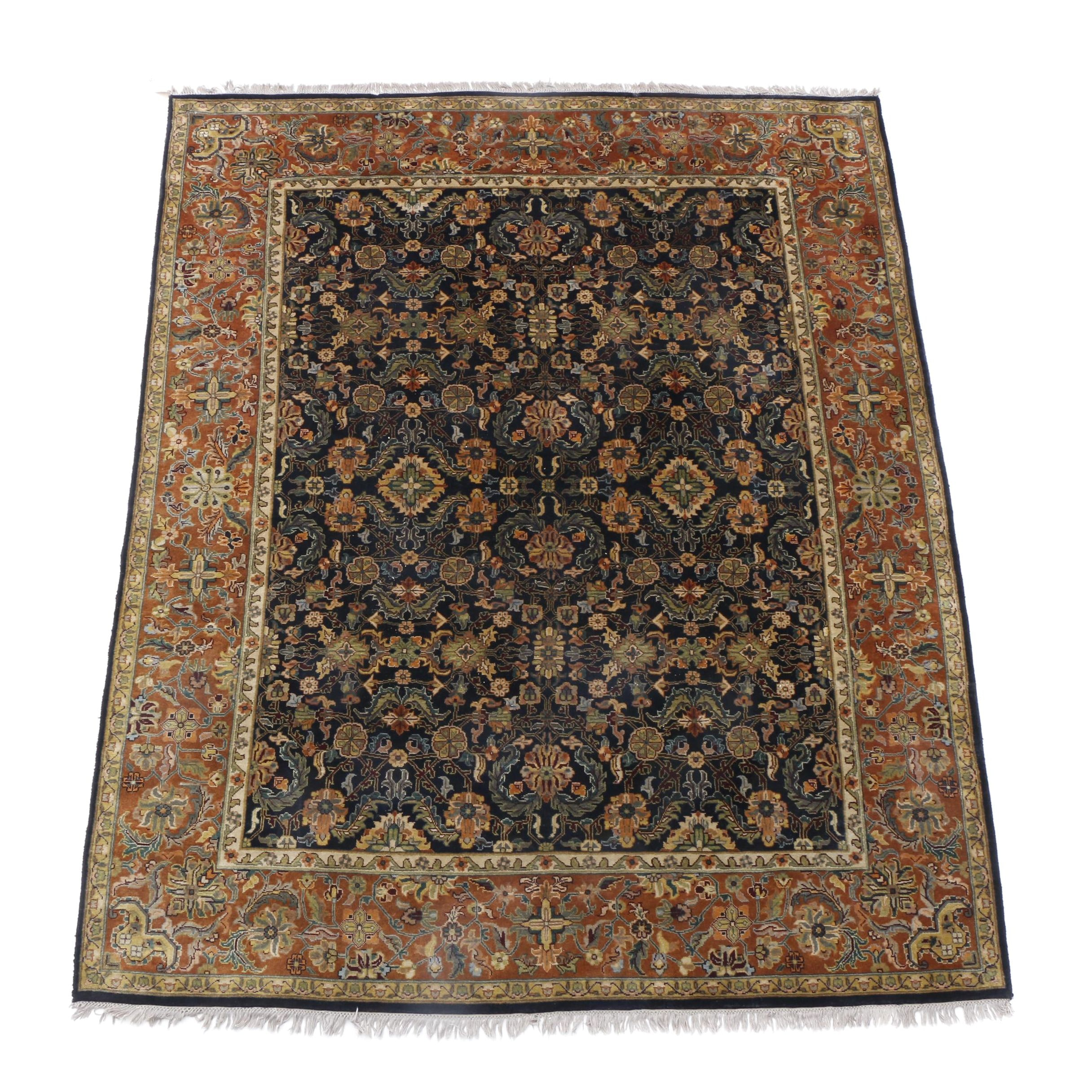 AKRI Hand-Knotted Indian Wool Rug