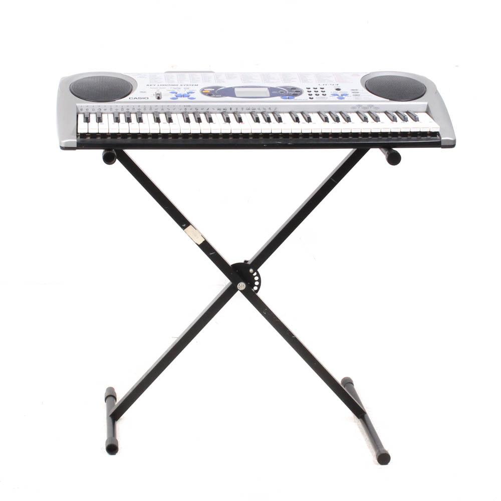 """Casio """"LK-43"""" Lighted Keyboard with Stand"""
