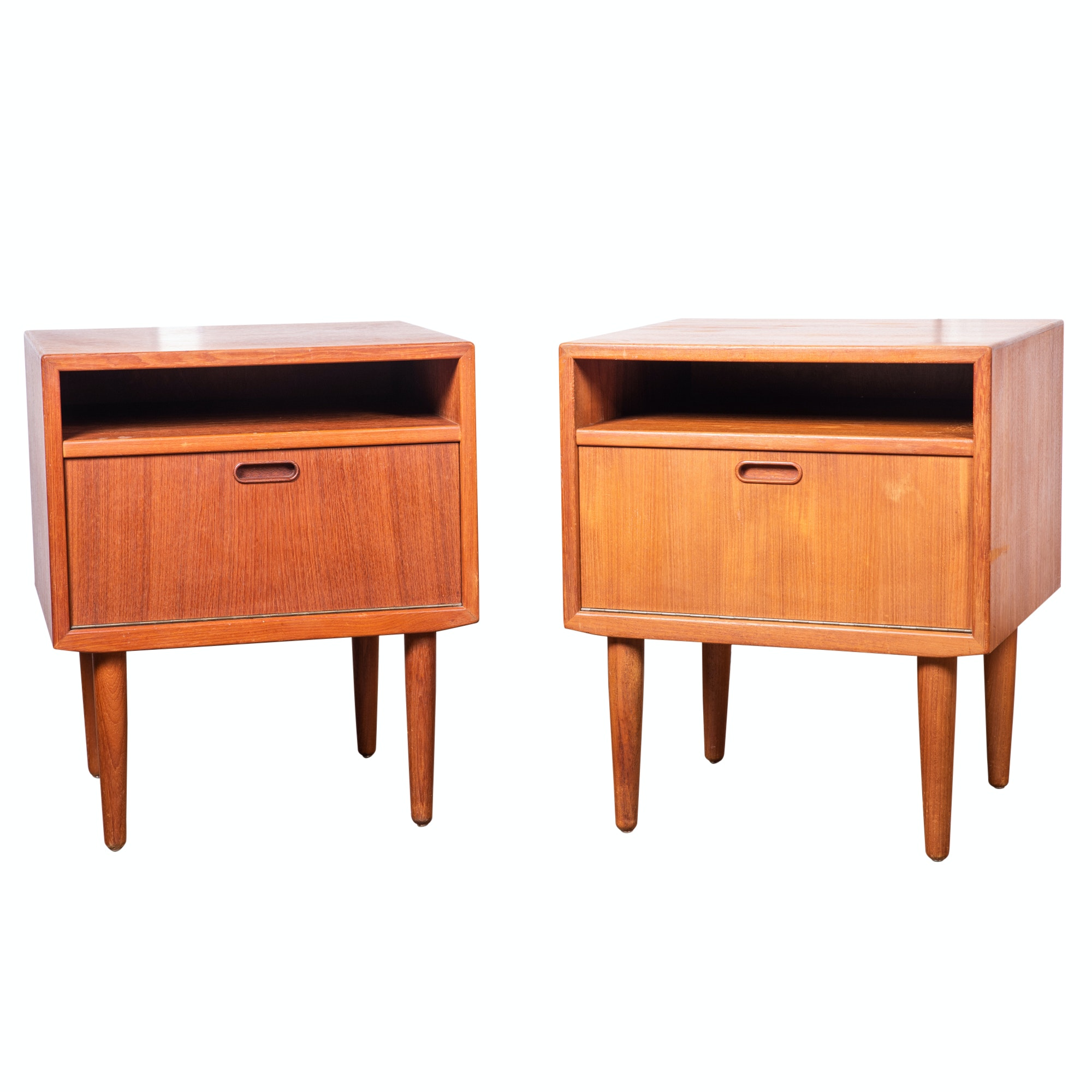 Danish Modern Nightstands by Falster