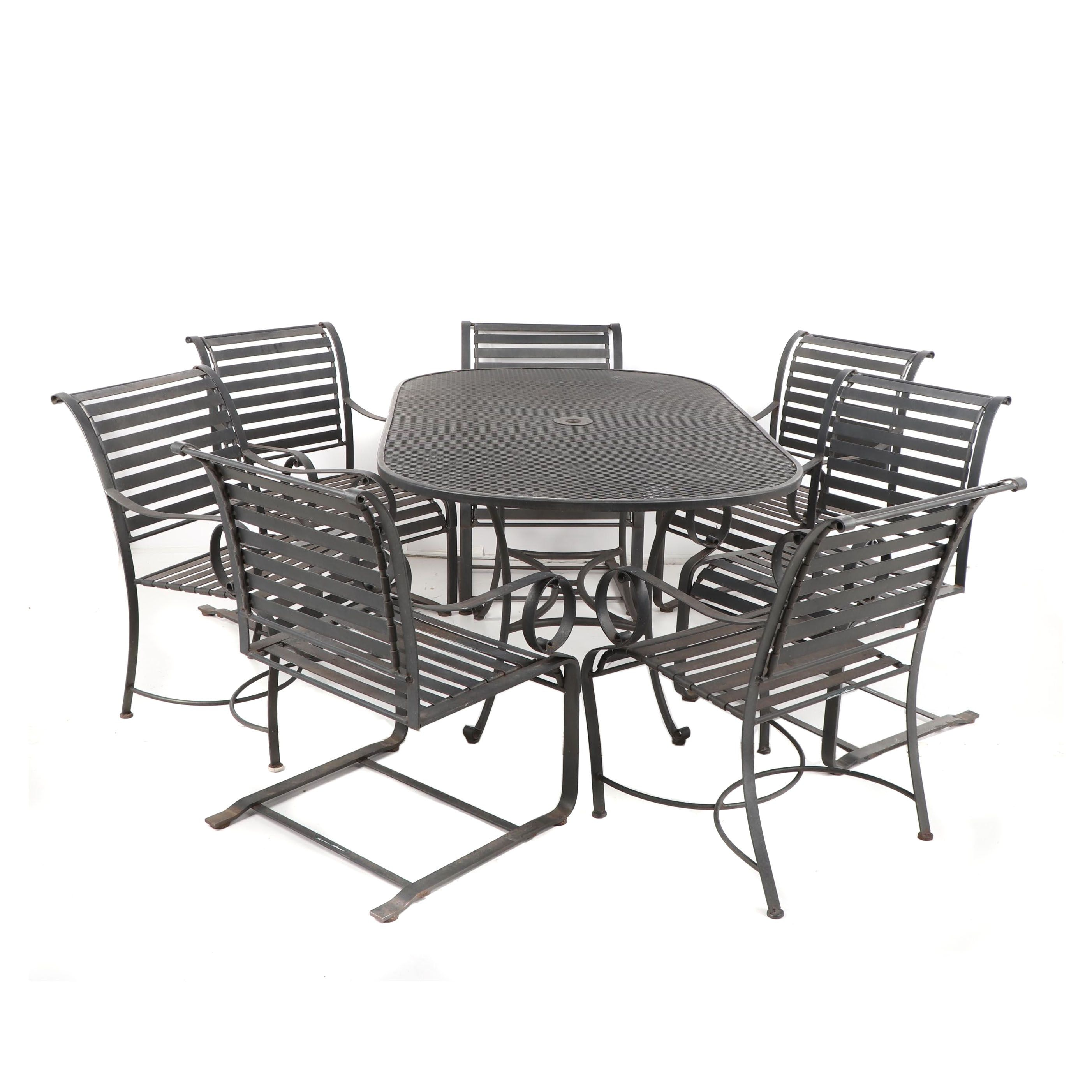 """Summer Classics"" Metal Patio Table and Chairs"
