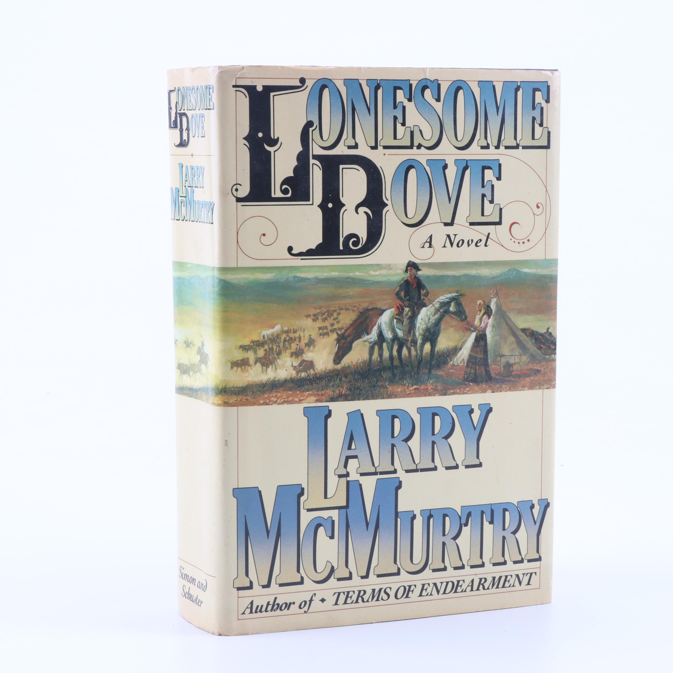 "1985 First Edition ""Lonesome Dove"" by Larry McMurty"