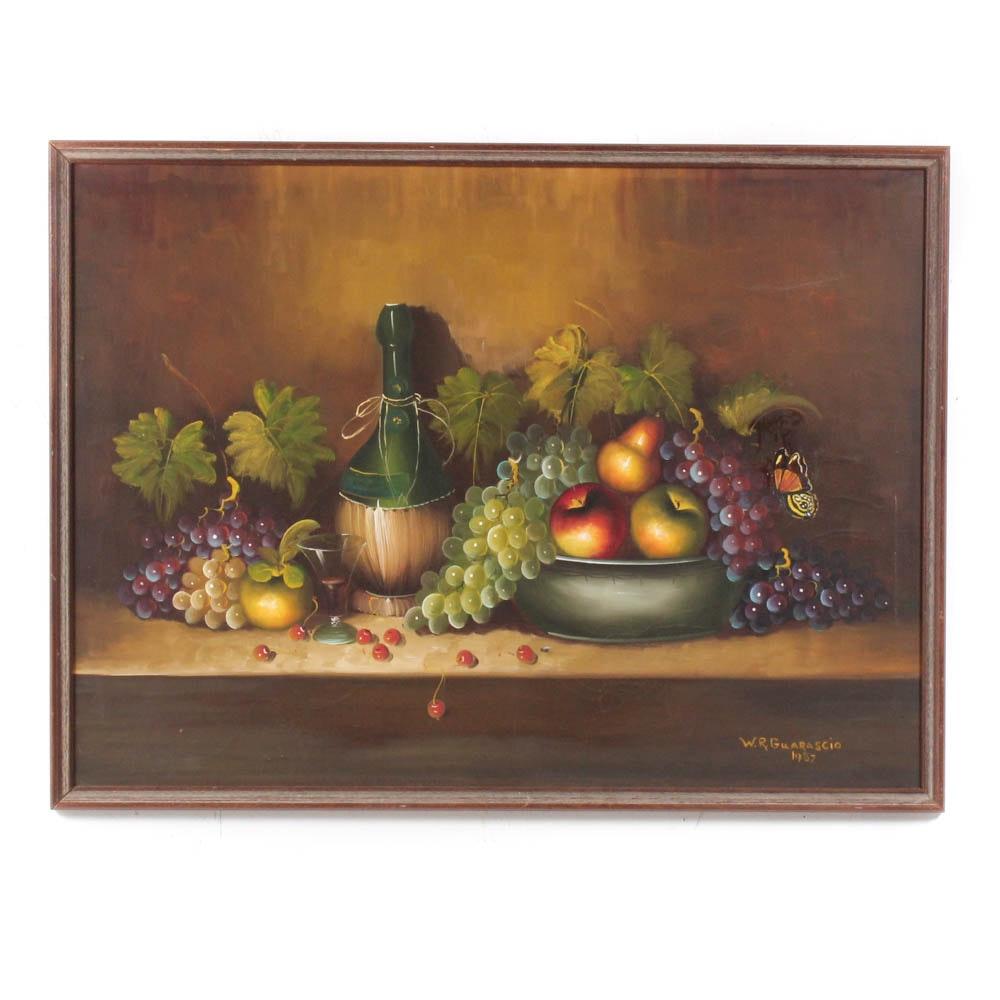 William R. Guarascio Oil on Canvas Landscape Painting
