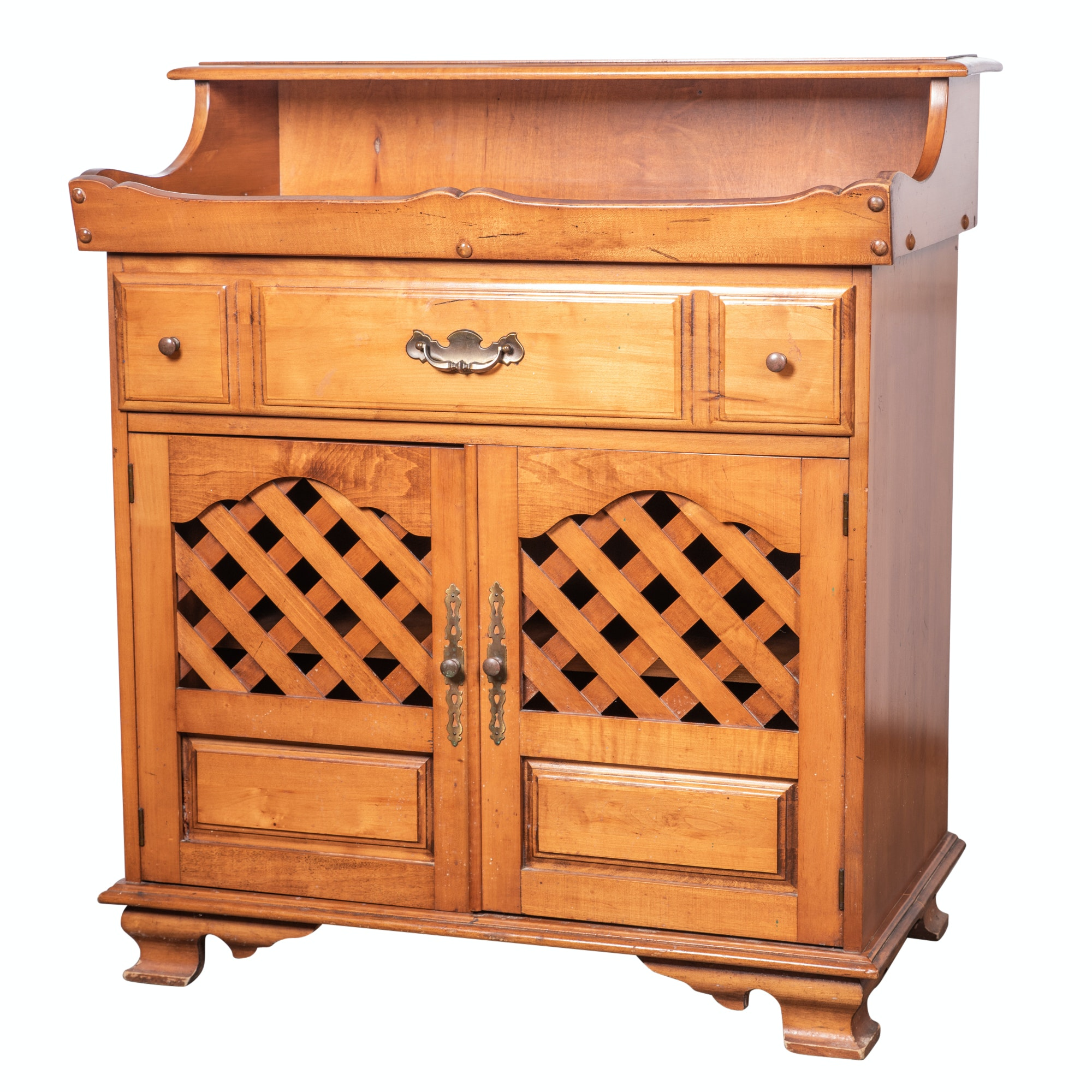 Colonial Revival Maple Dry Sink, 20th Century