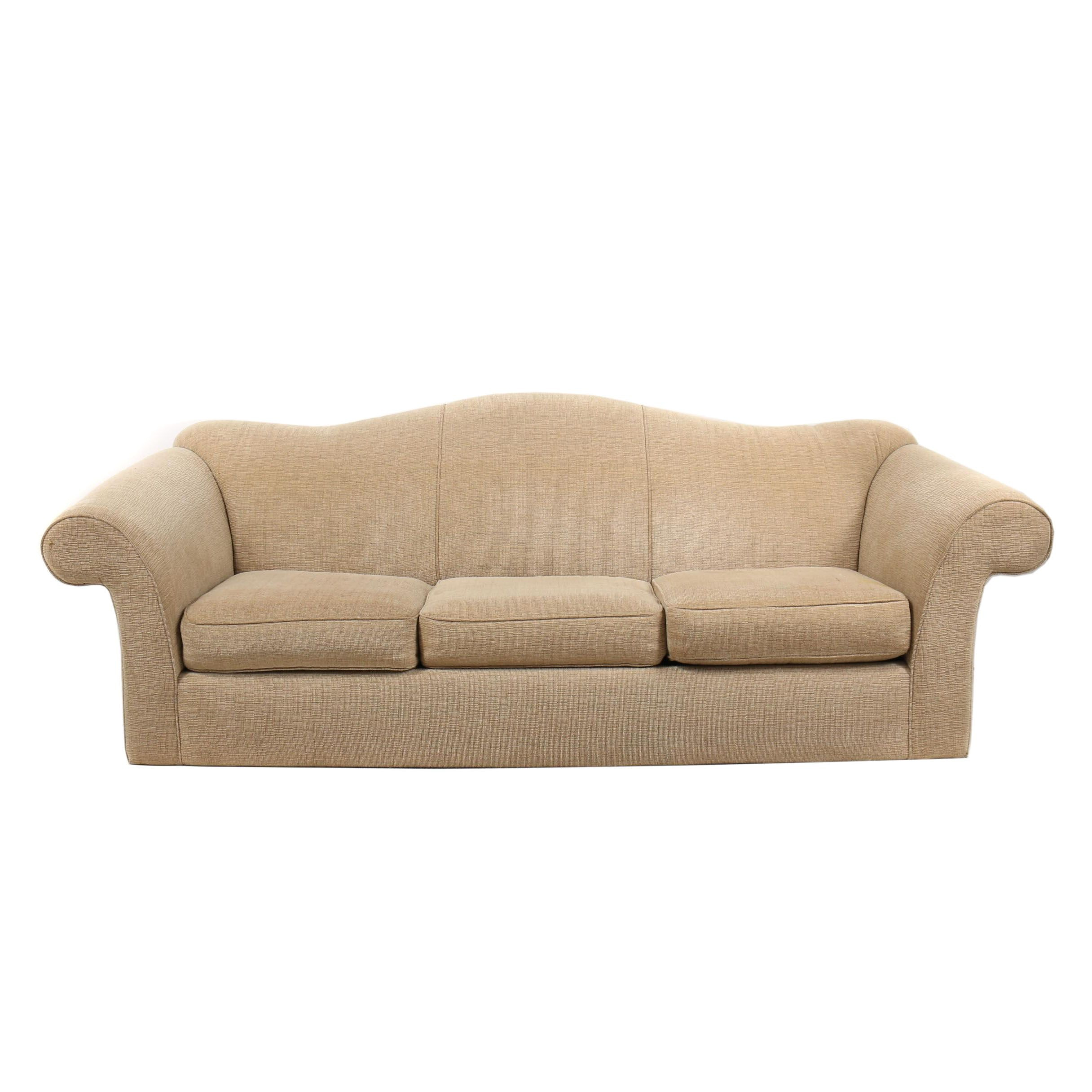 Upholstered Sleeper Sofa, 21st Century
