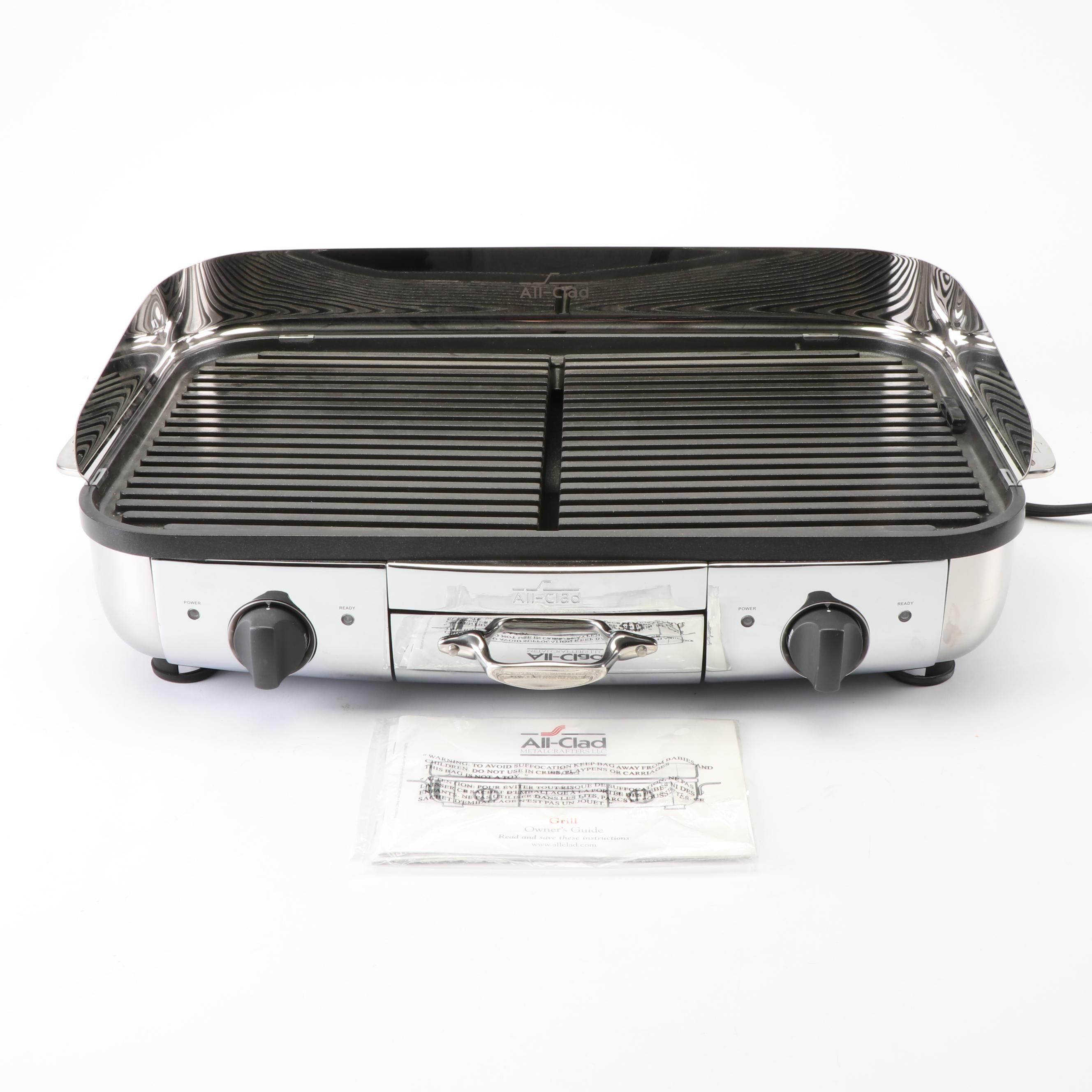 All-Clad Stainless Electric Griddle