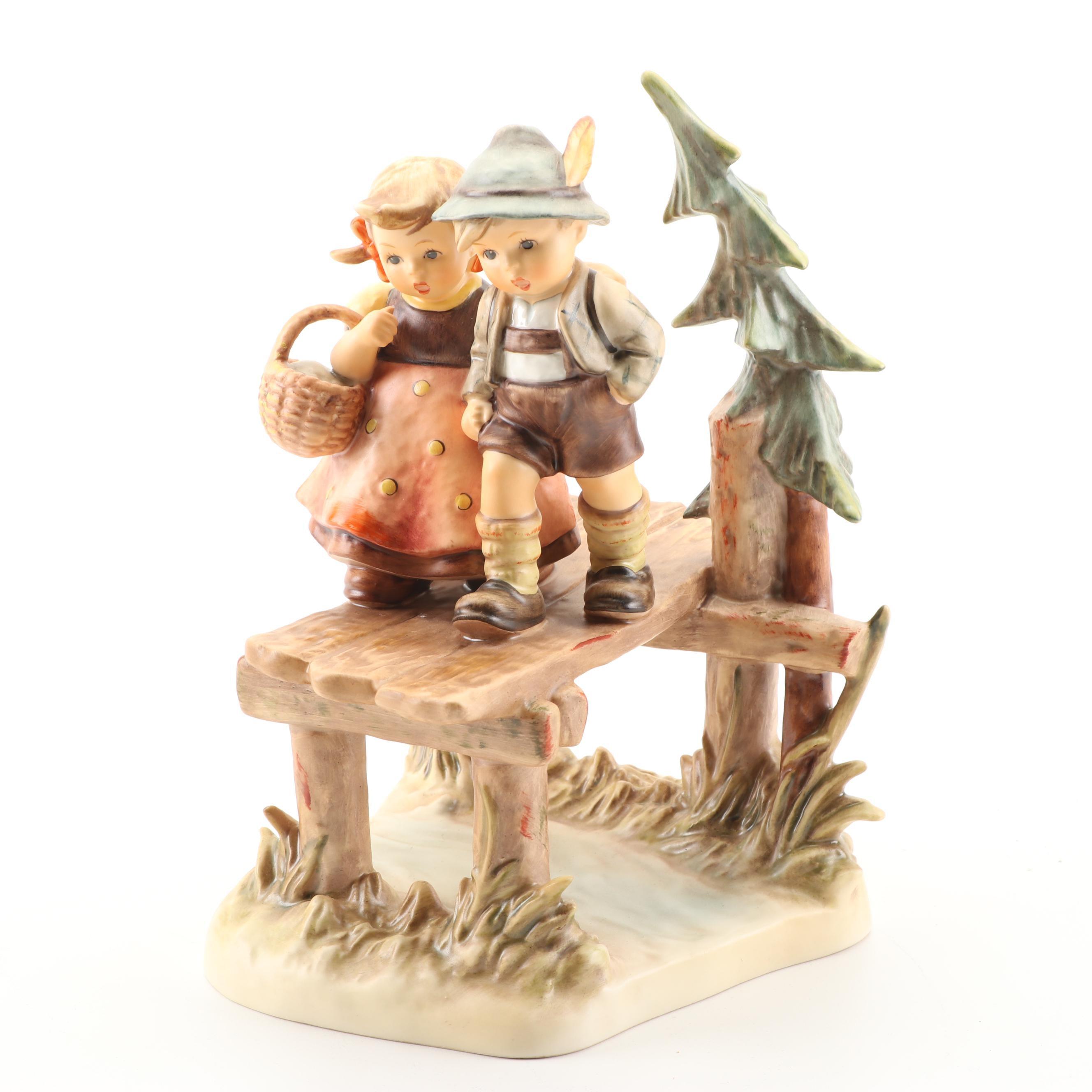 "Goebel Hummel ""On Our Way"" Figurine, Late 20th Century"