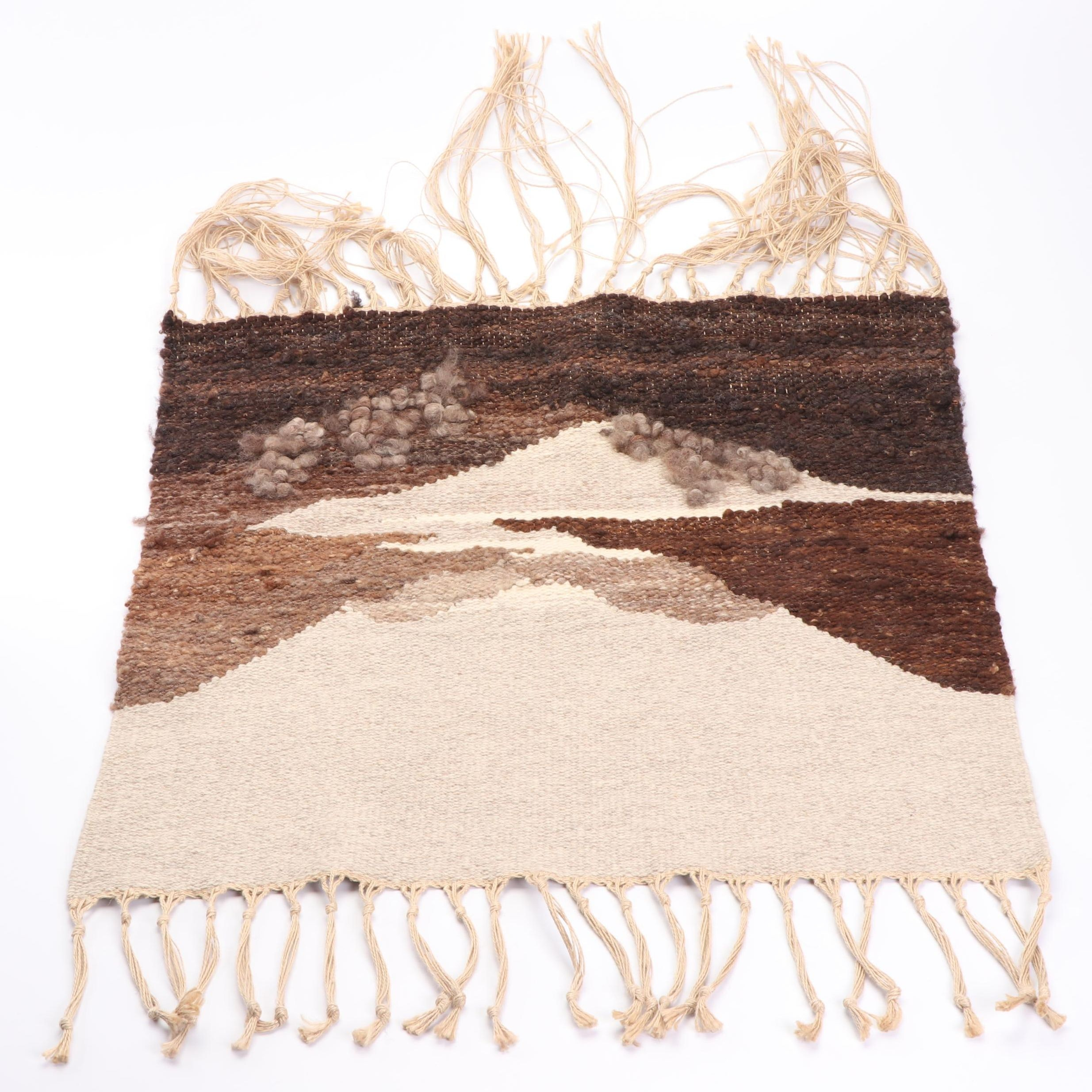 Handwoven New Zealand Bev. Macaulay Wool Rug