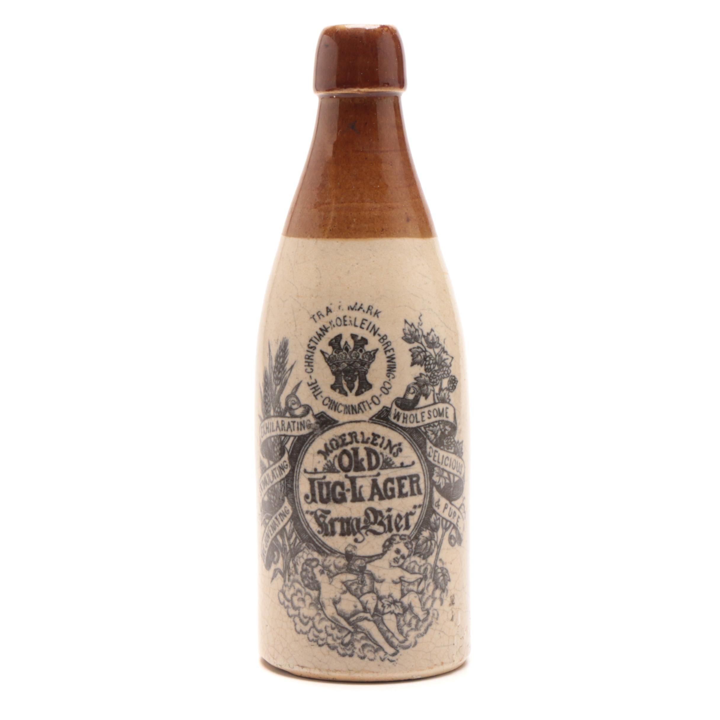 """Christian Moerlein Brewing Old Jug-Lager """"Krug Bier"""""""