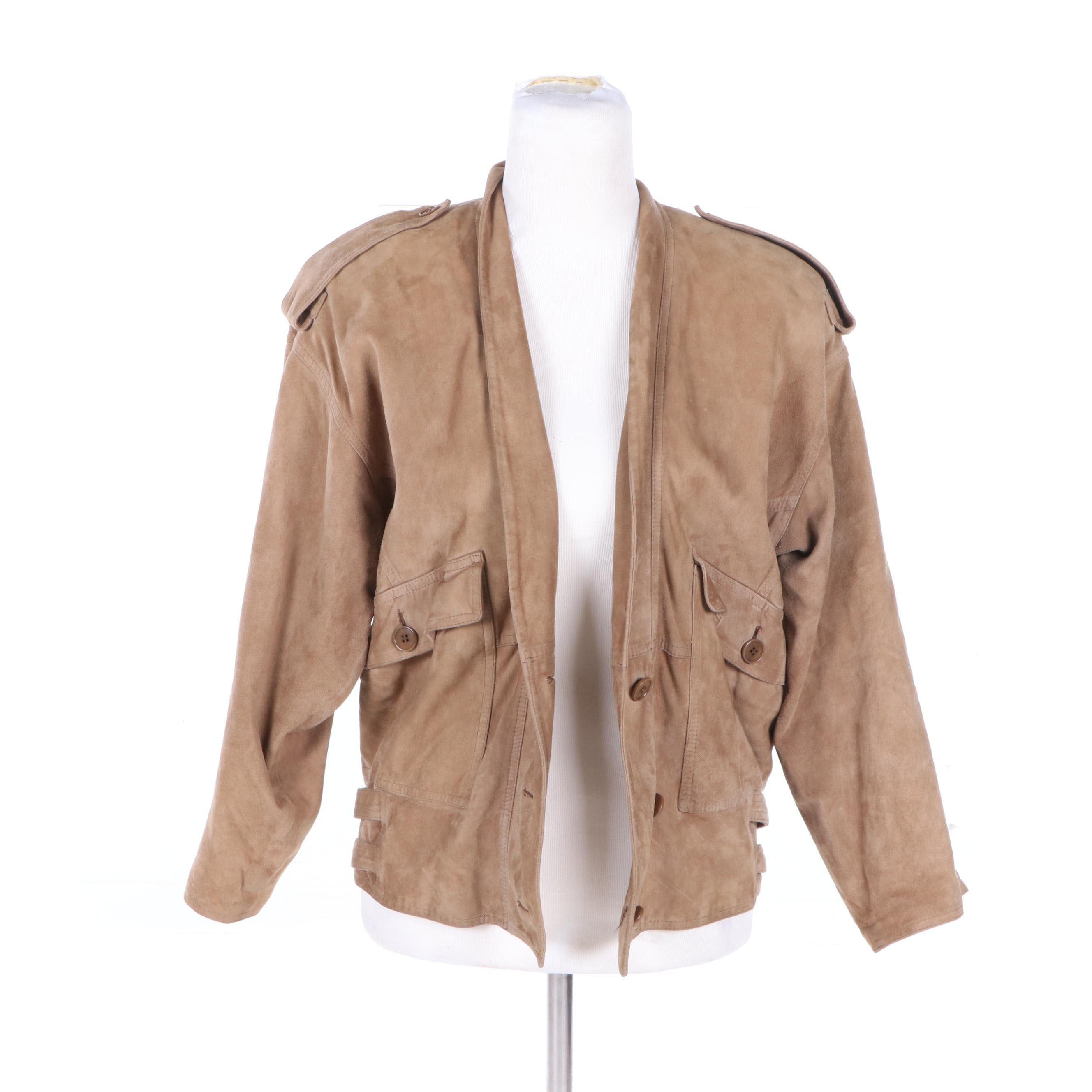 Vintage Leather Jackets Including Calvin Klein