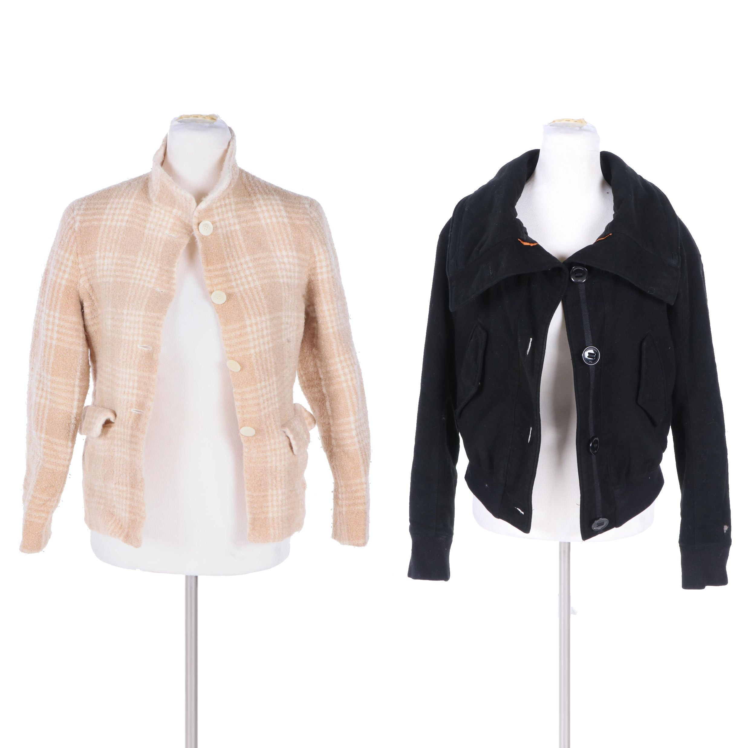 Women's Alexander McQueen and Escada Jackets