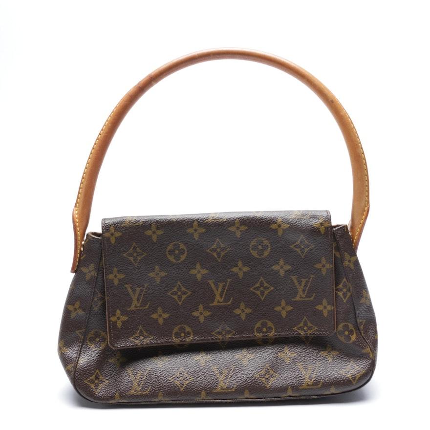 Louis Vuitton Paris Monogram Canvas Mini Looping Handbag