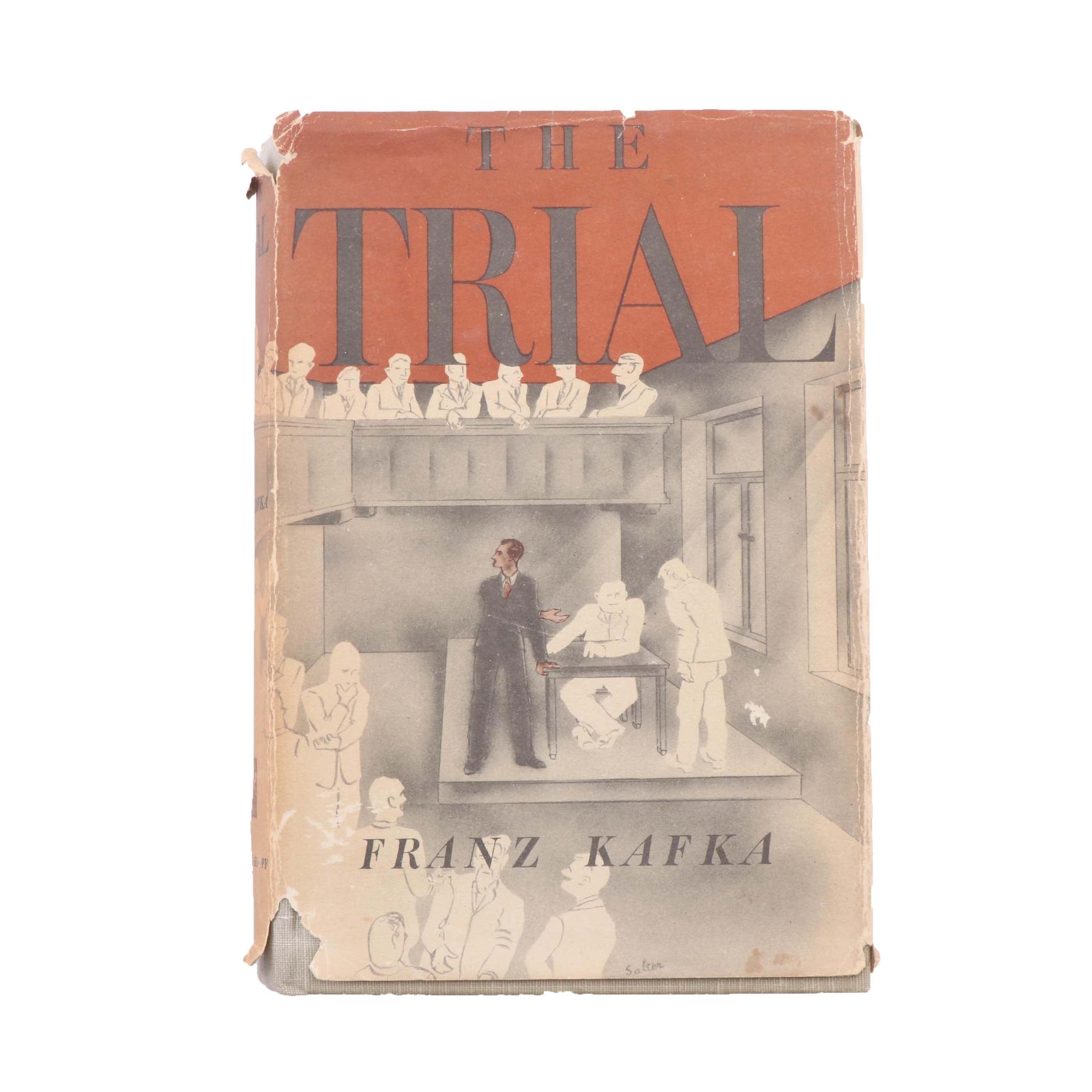"""1948 """"The Trial"""" by Franz Kafka"""