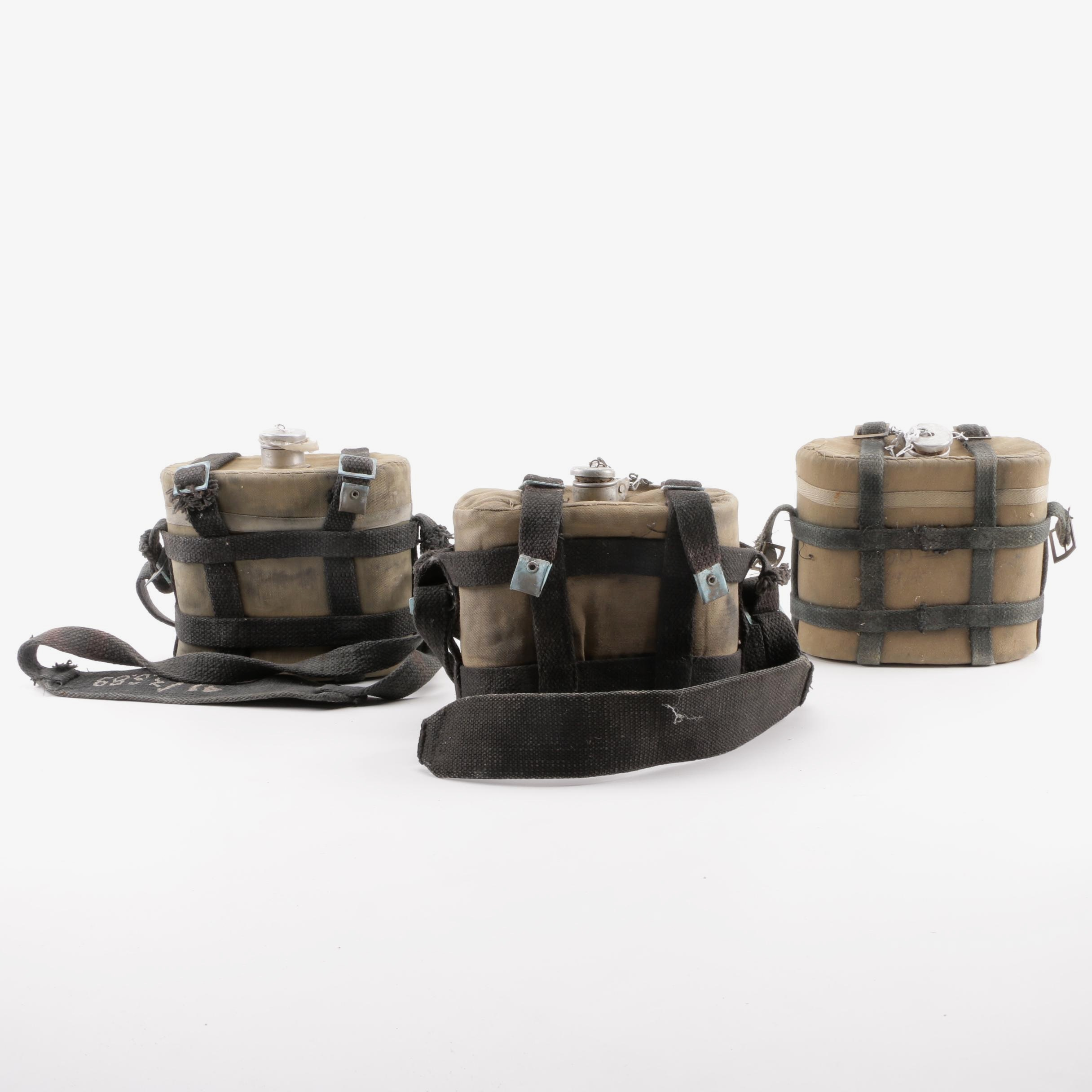 Vintage Military Canteens