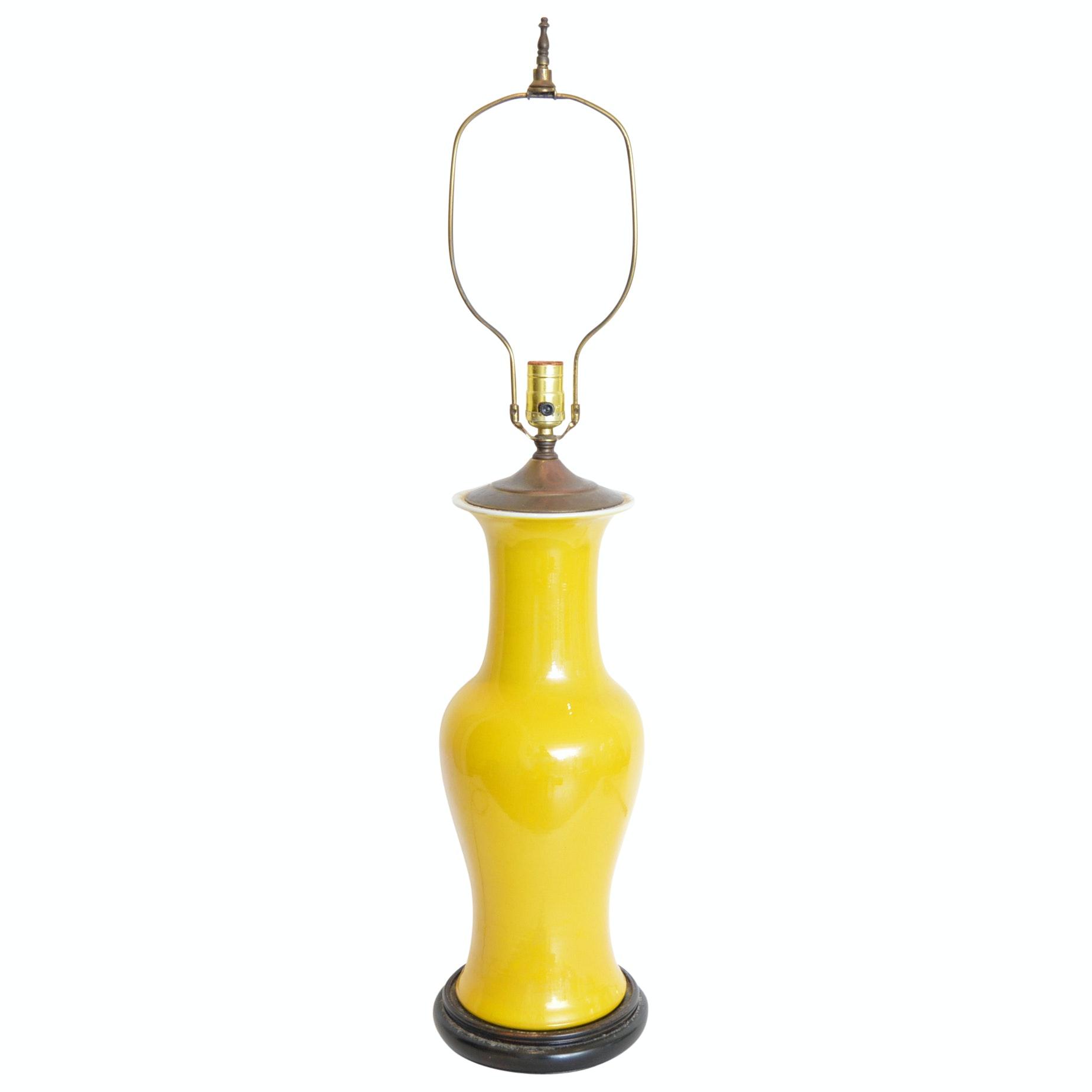 Ceramic Ginger Jar Table Lamp